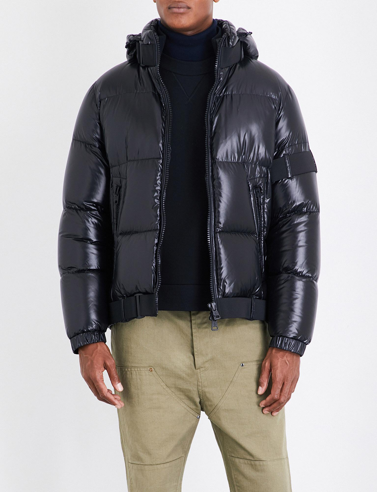 8ff56f835b ... shop lyst moncler x craig green brook quilted down jacket in black for  men 112fd 70ef3