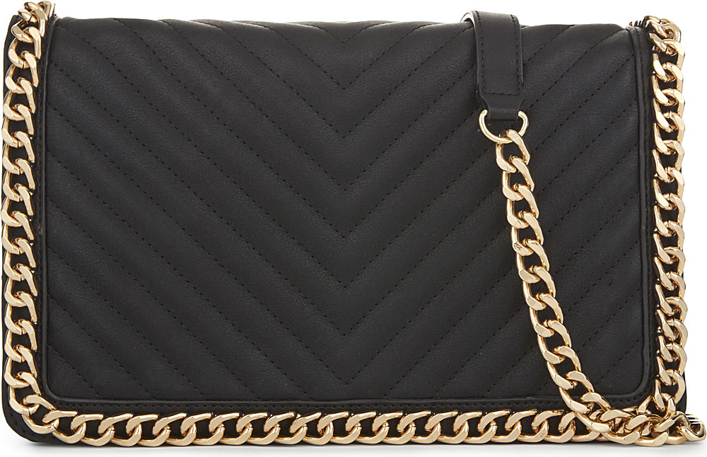 becaf53481e Lyst - ALDO Greenwald Faux-leather Shoulder Bag in Black