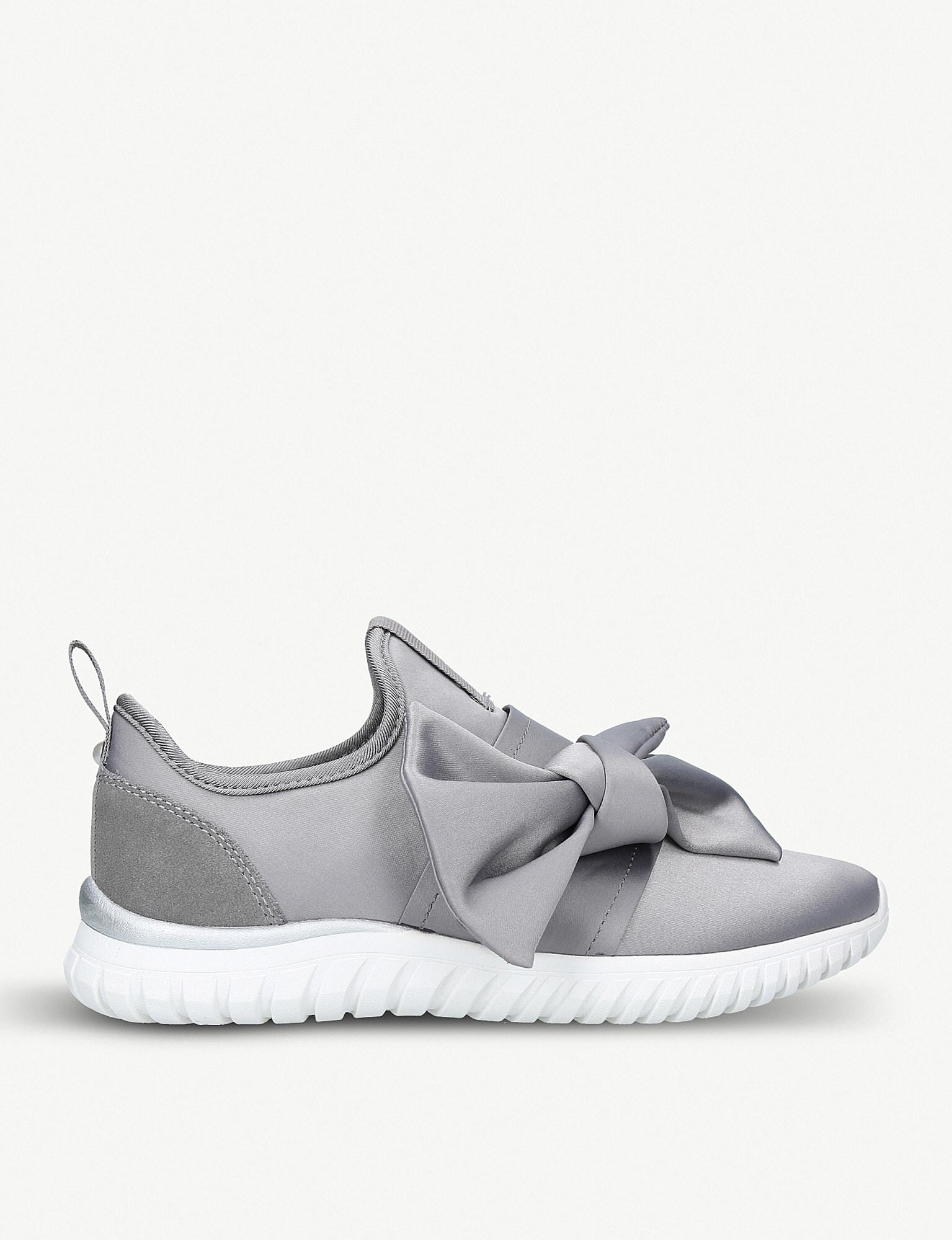 Miss KG Satin Bow Sneakers discount sale online buy cheap best seller cheap price cost buy cheap wholesale price CW67R