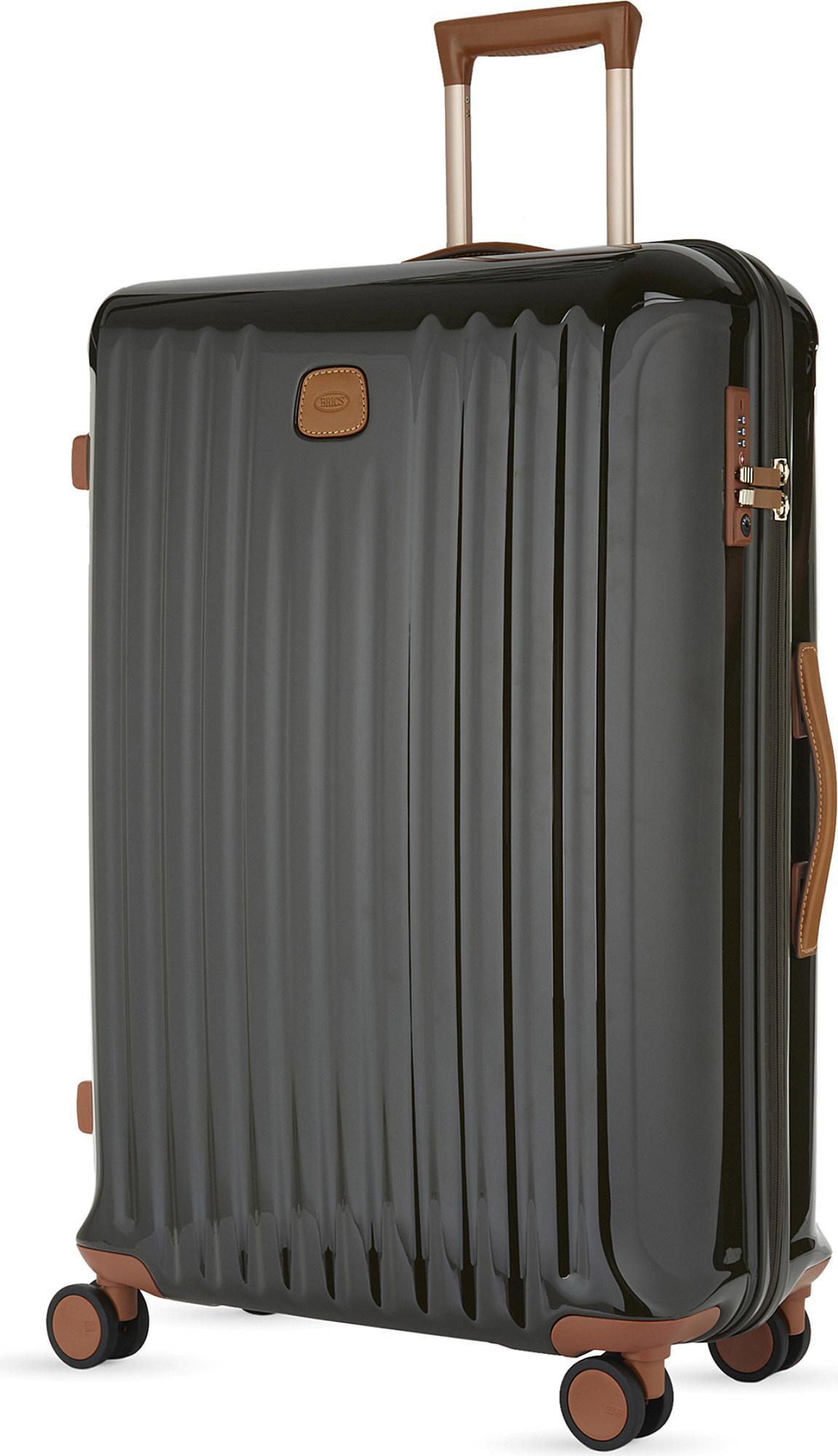 8b19b6da9f43 Lyst - Bric s Capri Four-wheel Trolley Suitcase 78cm in Green for Men