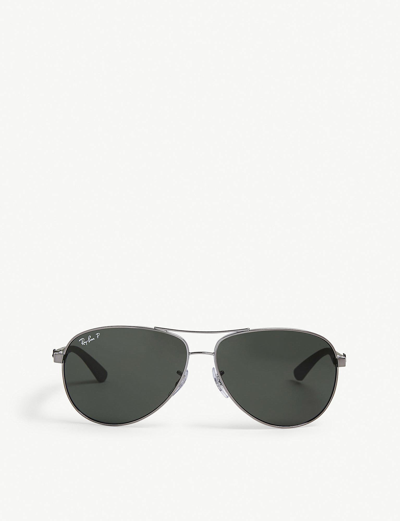 9fb04fe0c5d ... ebay lyst ray ban rb8313 tech aviator sunglasses for men 539e5 cc501