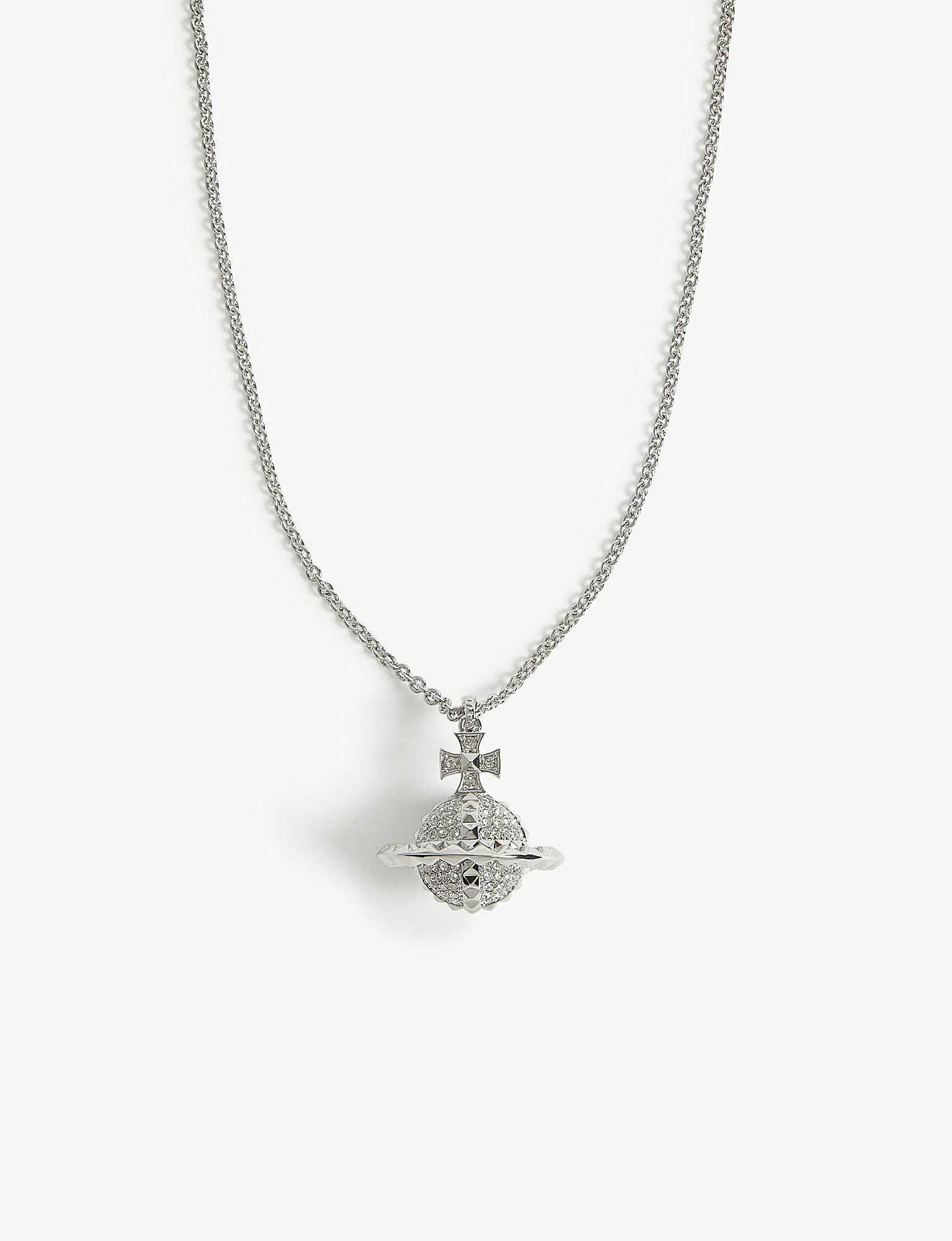 5b0174cbe2c29d Vivienne Westwood Mayfair Orb Pendant Necklace in Metallic - Lyst