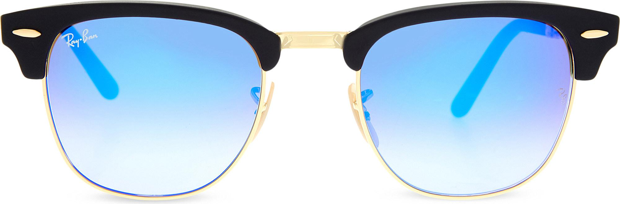 493911df86 Ray-Ban. Women s Rb2176 Clubmaster Folding Sunglasses
