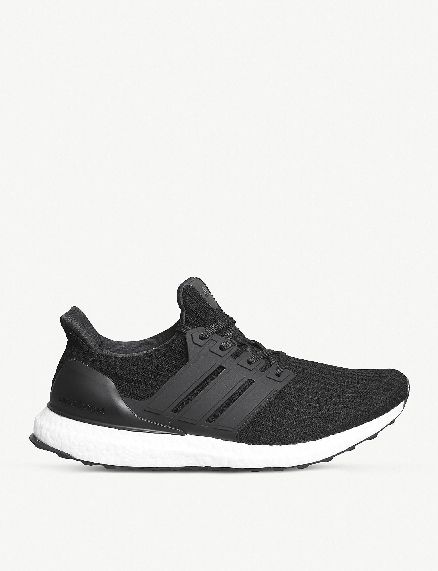 3879dc1fa7fa Lyst - Adidas Ultra Boost Primeknit Trainers in Black for Men
