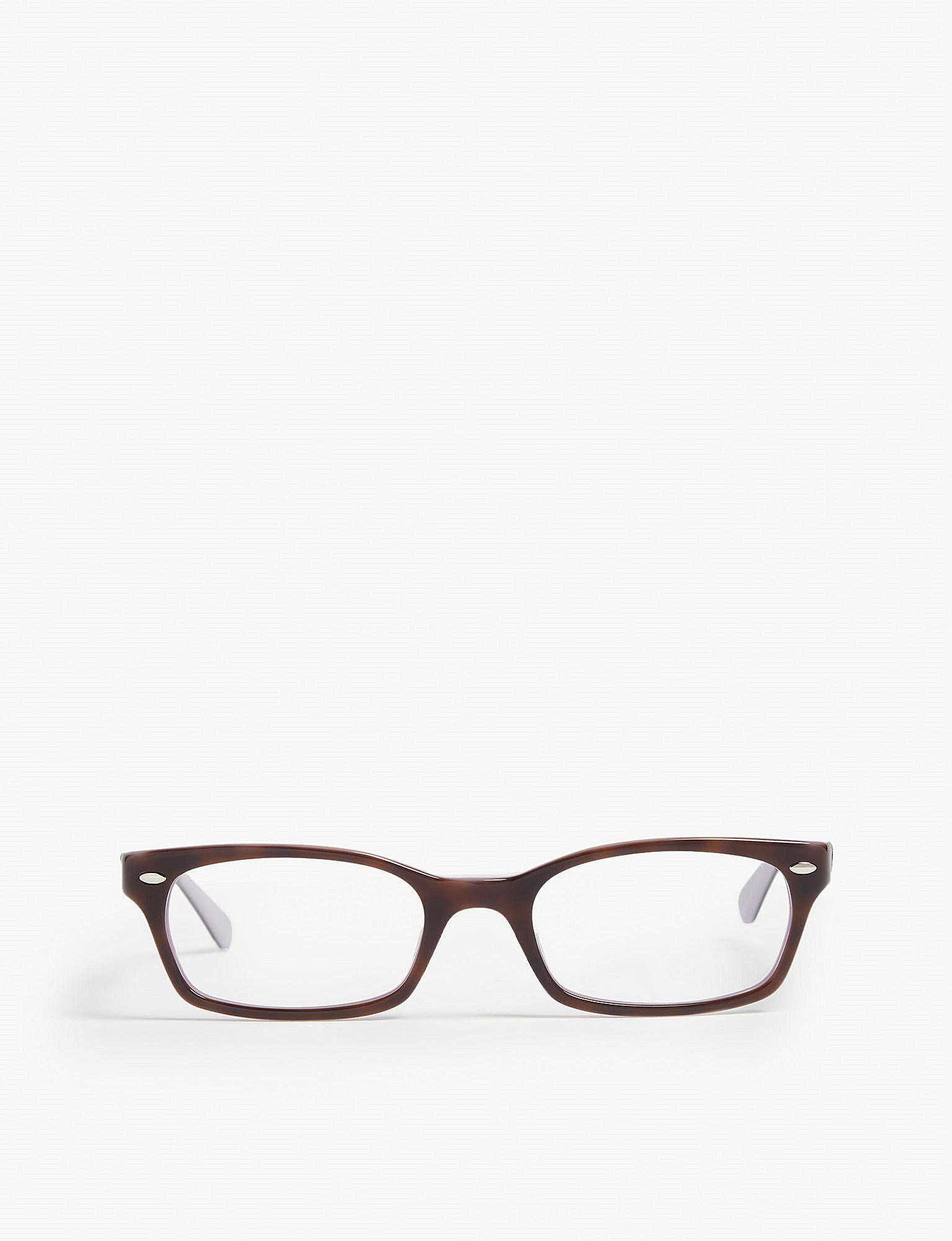 08b5fda47ed92 Ray-Ban Rb5150 Rectangle-frame Glasses in Blue for Men - Lyst