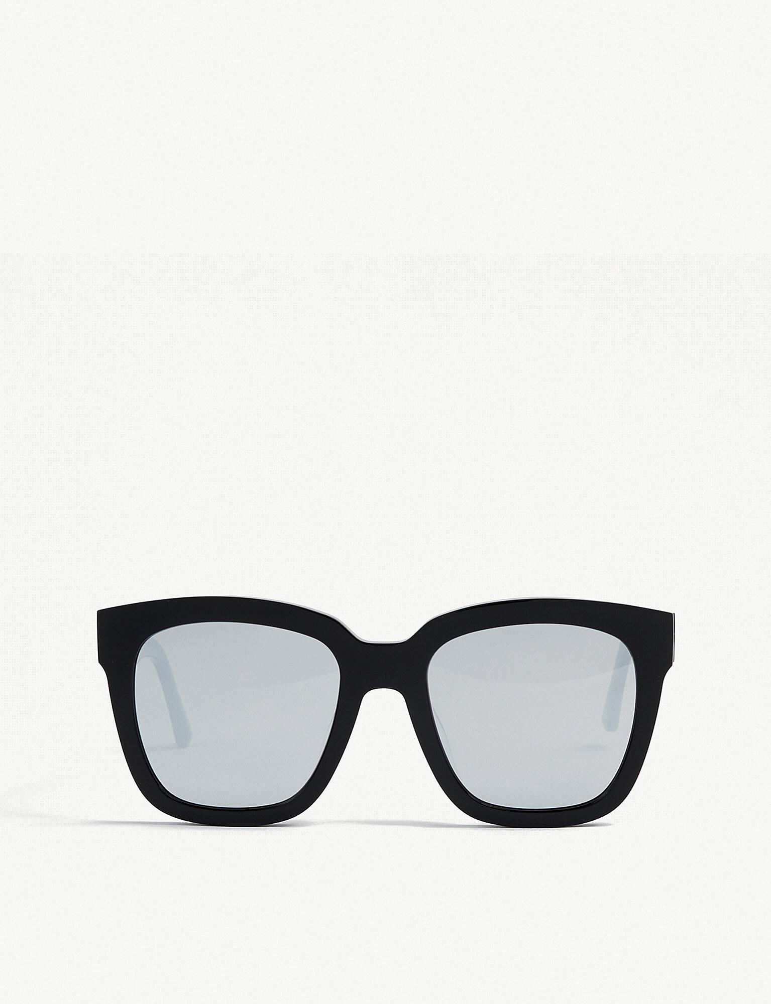 2d3dac0e862 Lyst - Gentle Monster Dreamer Hoff Mirrored Acetate Sunglasses in Black