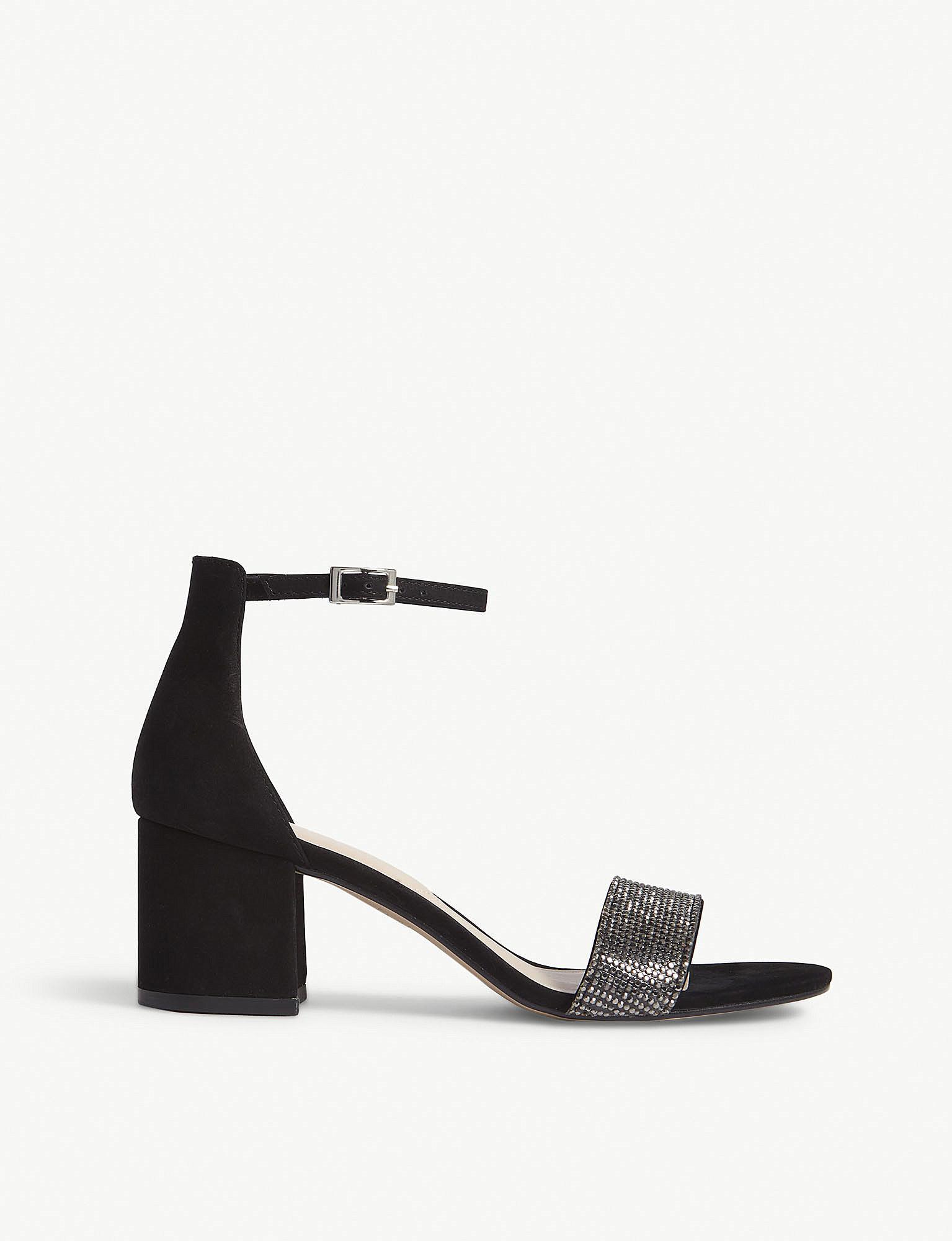 811735f5adb6 Lyst - ALDO Gladoniel Block Heel Sandals in Black