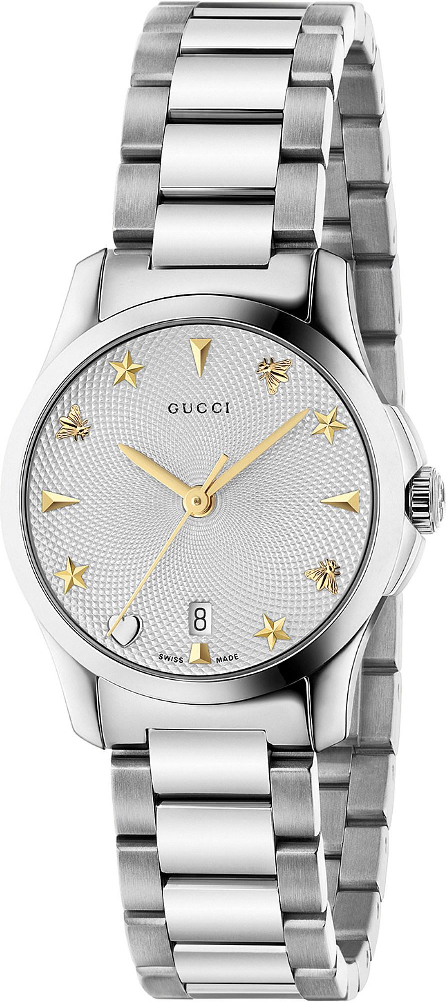 339f4b93f06 Gucci - Metallic Ya126572 G-timeless Stainless Steel Watch - Lyst. View  fullscreen