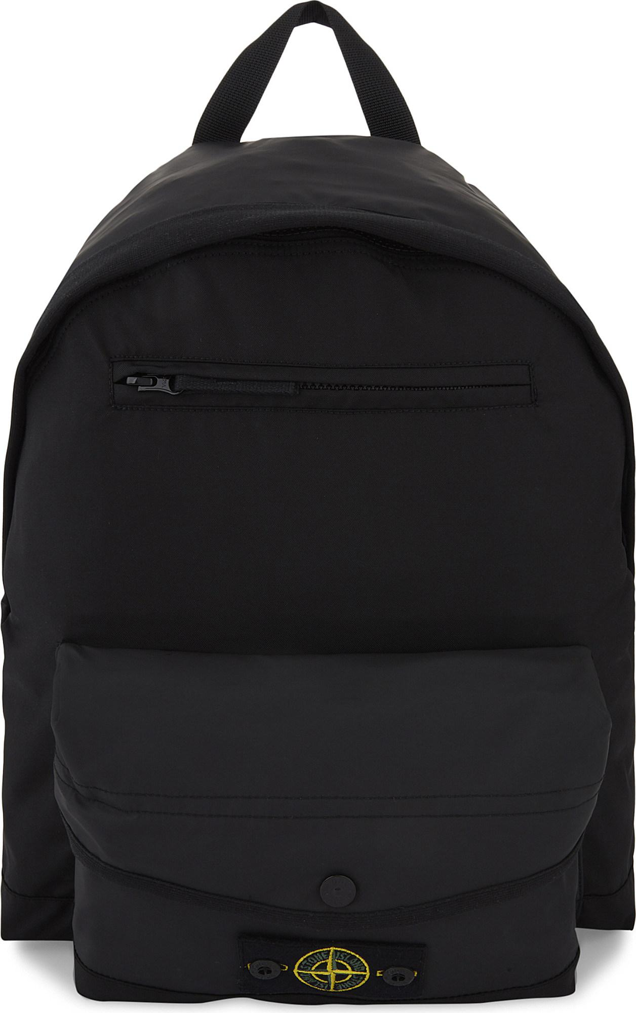... Backpack in Black - Lyst low priced a2e7c fe3e5  TIBA + MARL Elwood  backpack san francisco b7330 c2f18  EMPORIO ARMANI Embossed logo leather  holdall ... 60cc6f9d87f3e