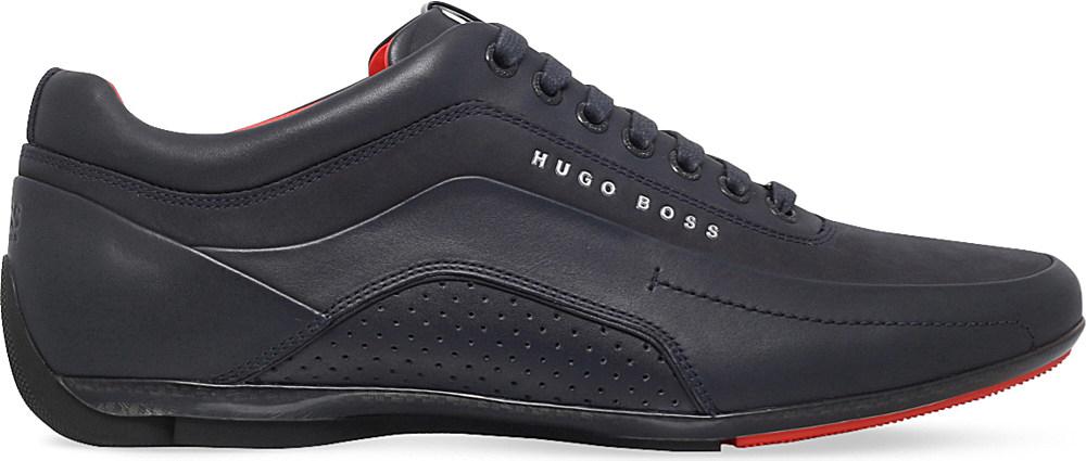 Hugo Boss Blue Racing Shoes