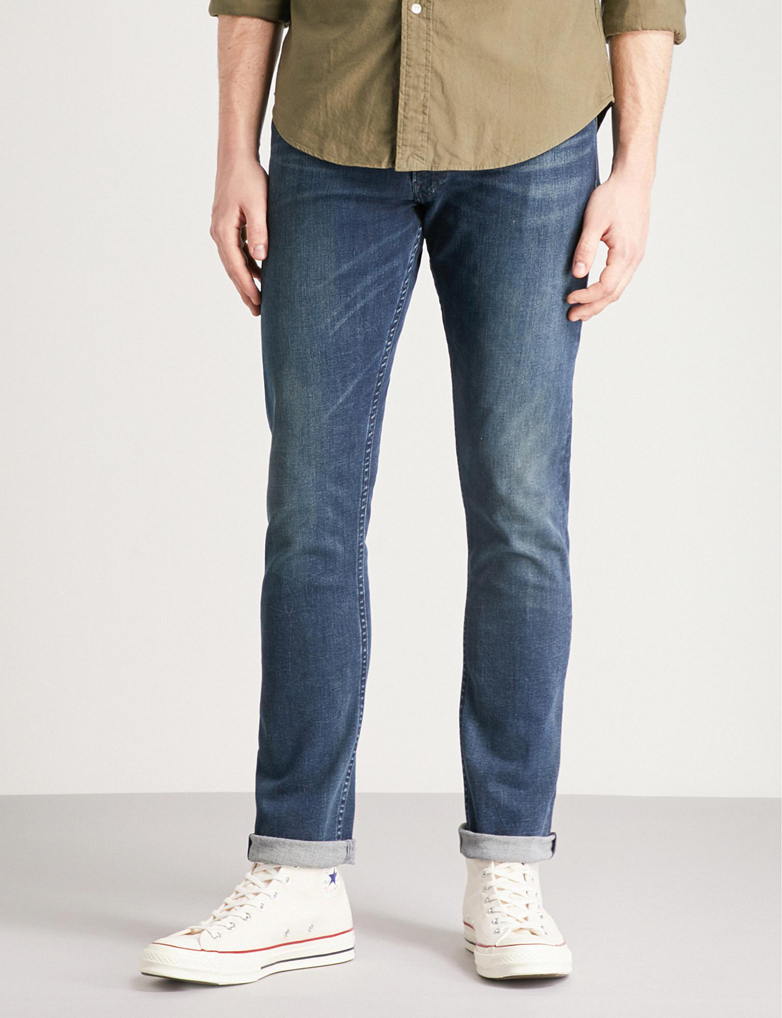 dab5eb381 Lyst - Polo Ralph Lauren Sullivan Slim-fit Straight Jeans in Blue ...