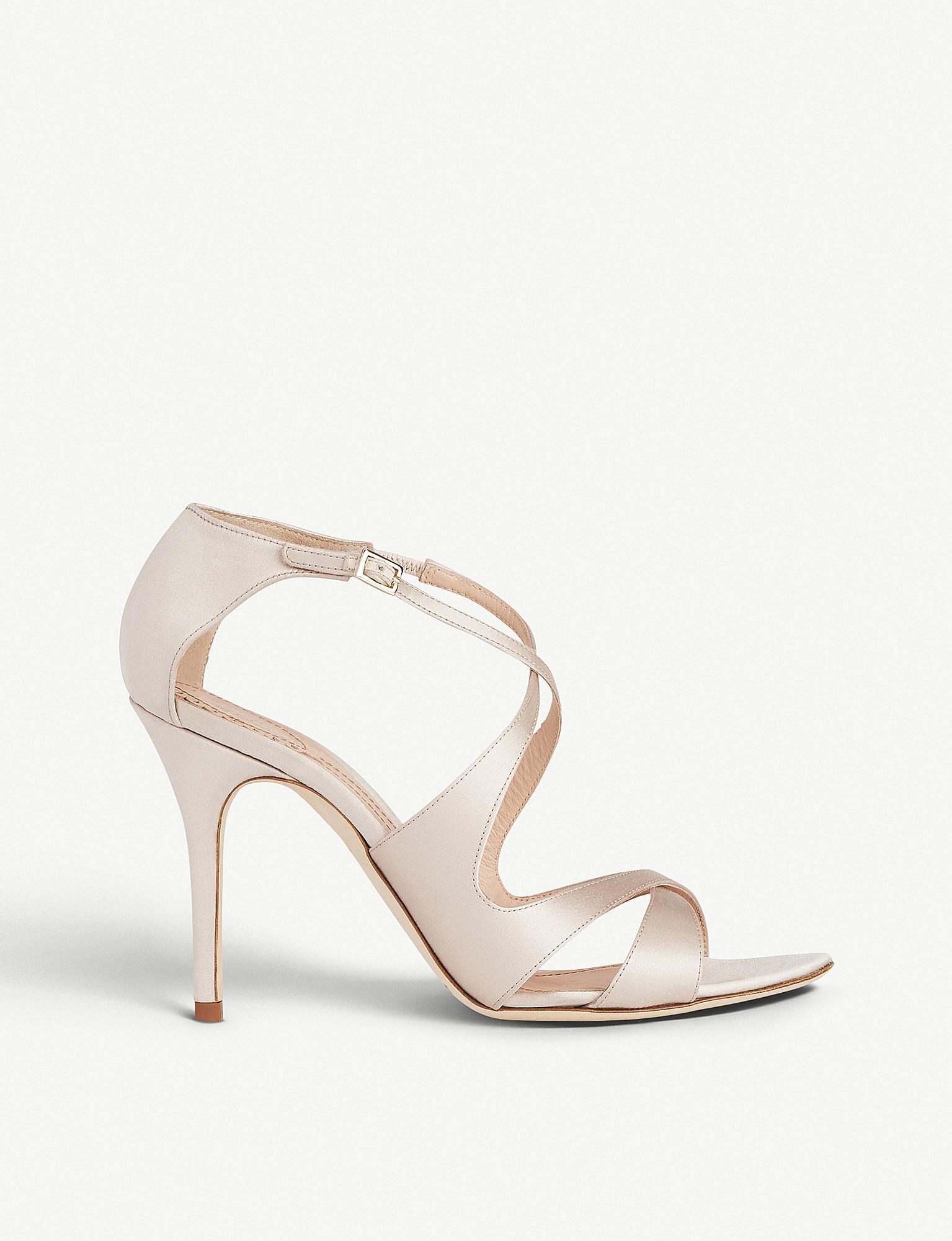 976748d287800b L.K.Bennett. Women s Natural X Jenny Packham Brielle Satin Heeled Sandals