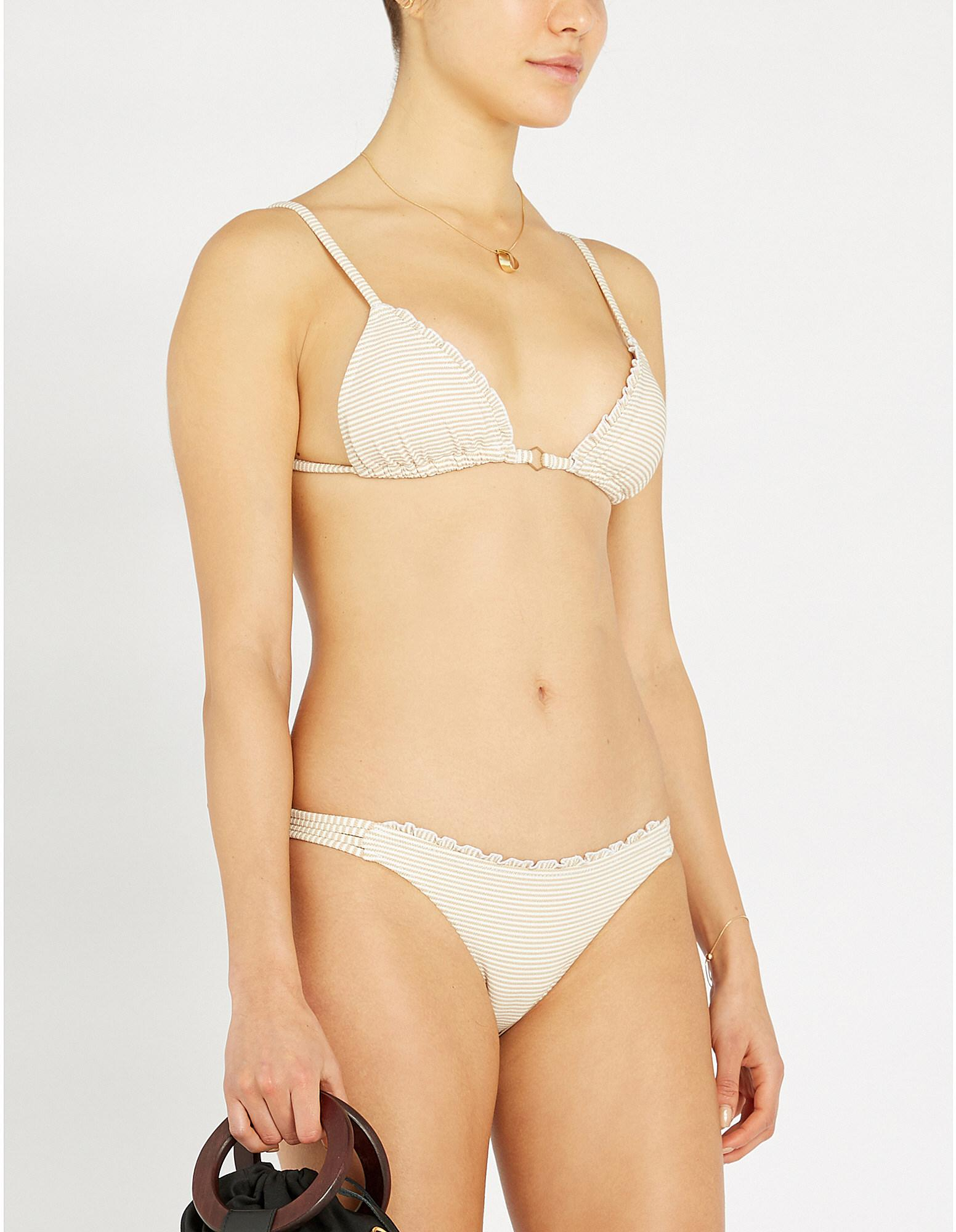 0360b0355d Tigerlily. Women s Elissa Blanc Tara Triangle Bikini Top