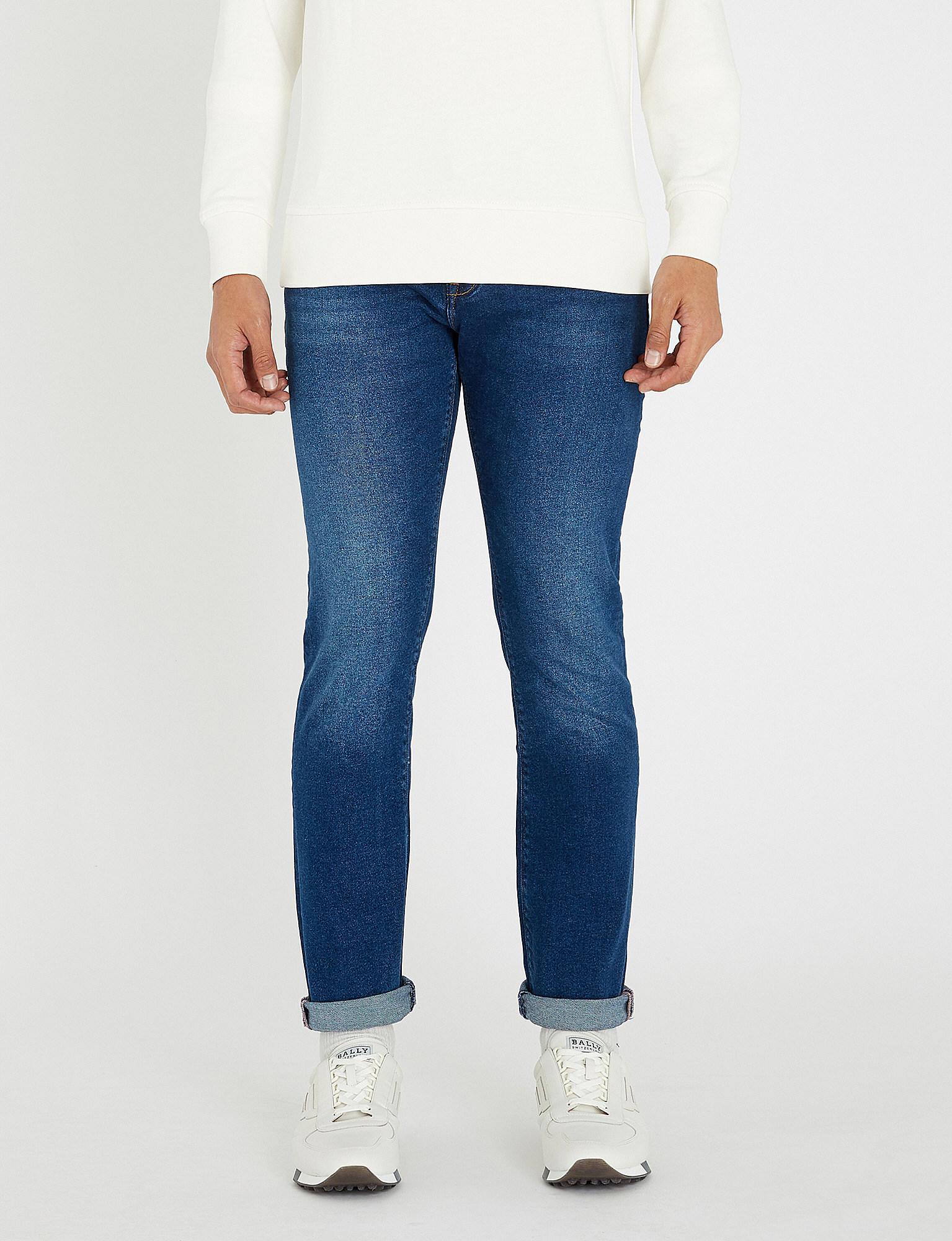 6564fb75 Tommy Hilfiger Bleecker Slim-fit Skinny Jeans in Blue for Men - Lyst