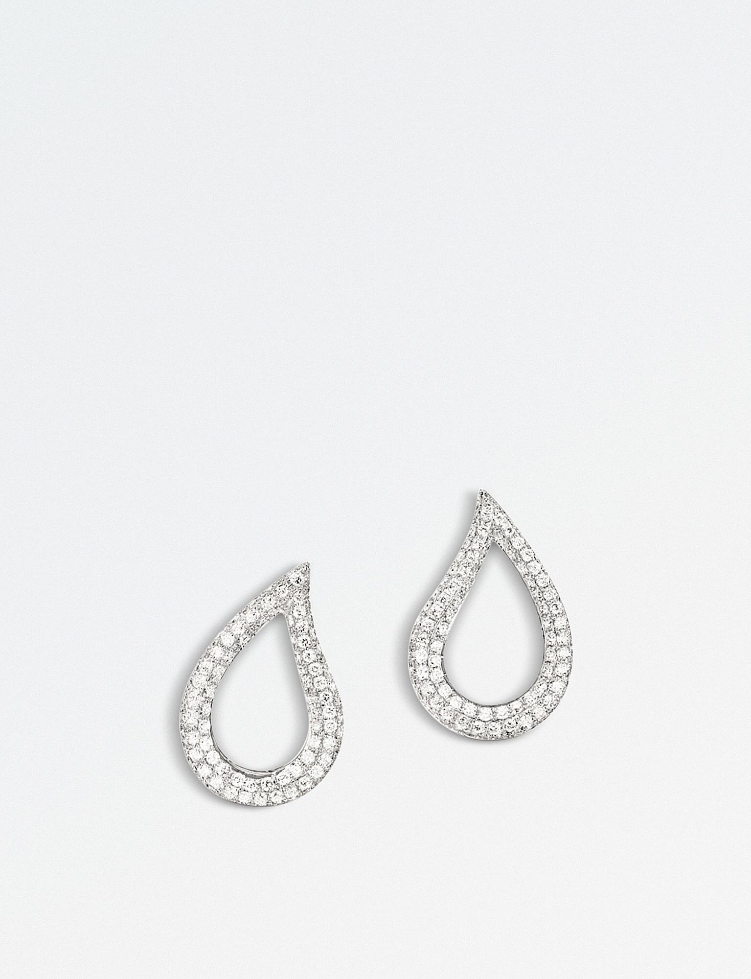 Lyst Bucherer Jewellery Lacrima 18k White gold And Diamond