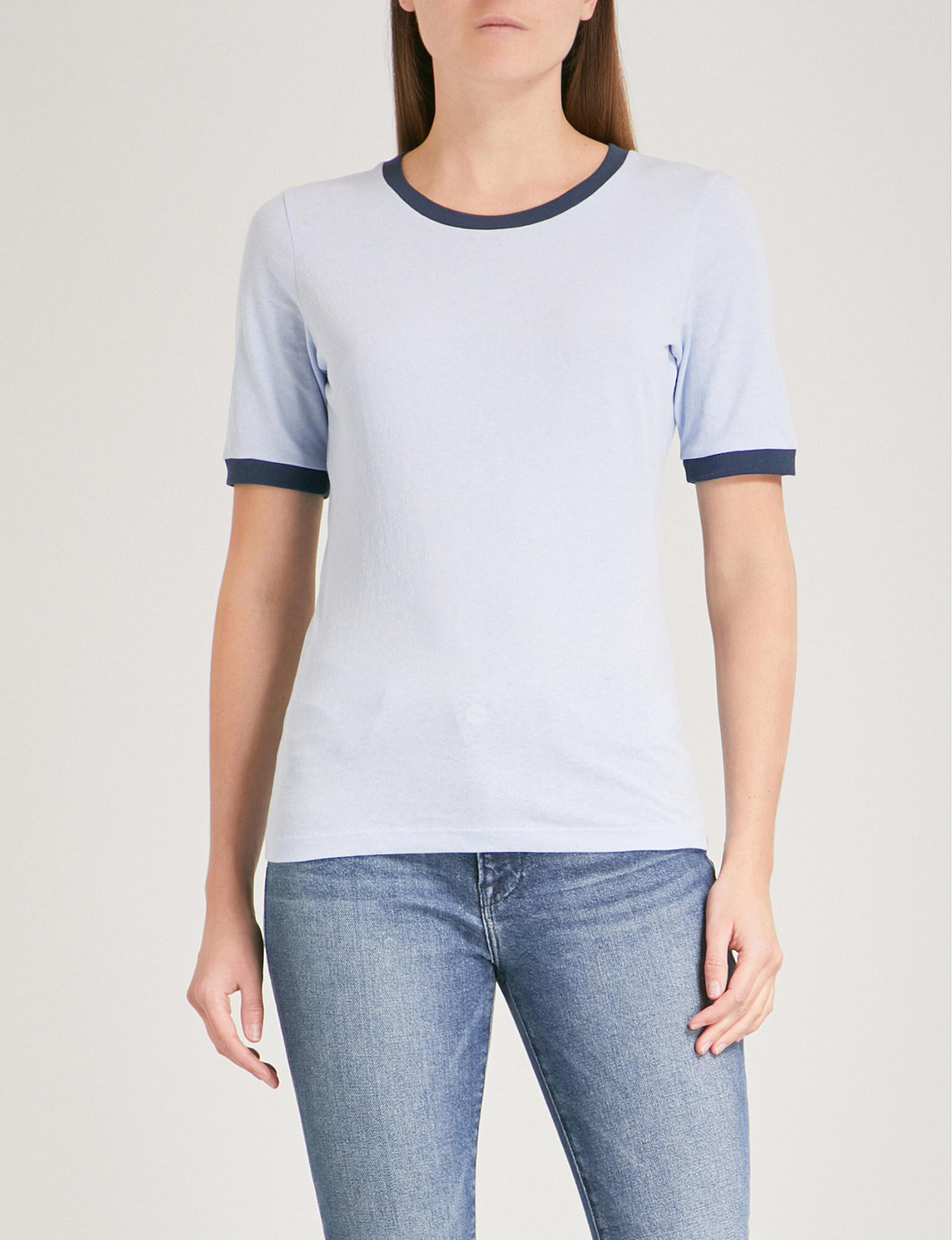 Cotton-jersey T-shirt Frame Denim Offer Clearance Lowest Price Best Store To Get Cheap Online Good Selling Discount With Credit Card WBZ9GT