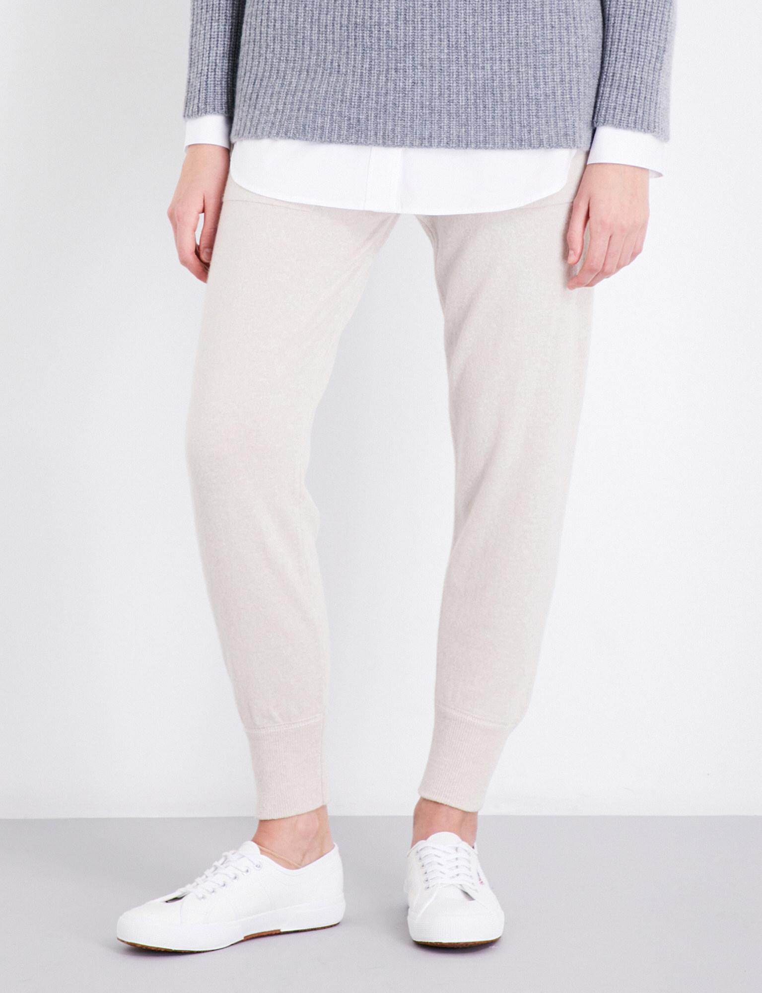 579ab591 Lyst - &Daughter Narin Cashmere Jogging Bottoms