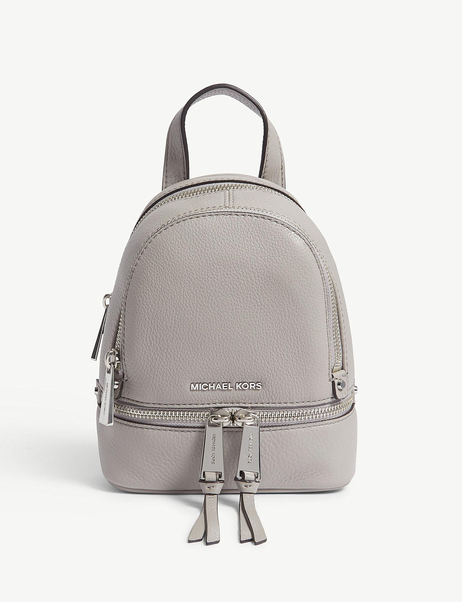 35a7f4df1ad9 ... extra small convertible backpack lyst 1c2e7 46d62  discount code for  gallery. previously sold at selfridges womens michael by michael kors rhea  womens