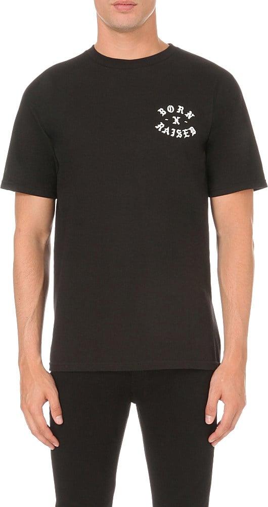 Born x raised Till Death Do Us Part Cotton-jersey T-shirt ...