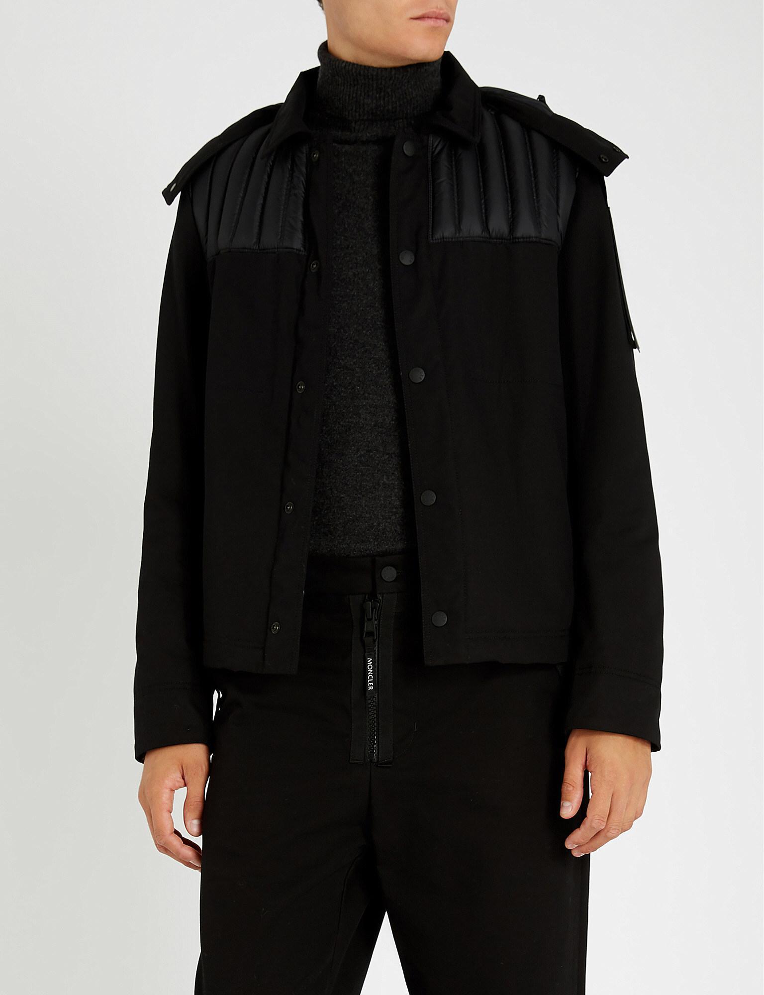 30990ba434c0 Moncler 5 Craig Green Cotton-canvas Jacket in Black for Men - Lyst