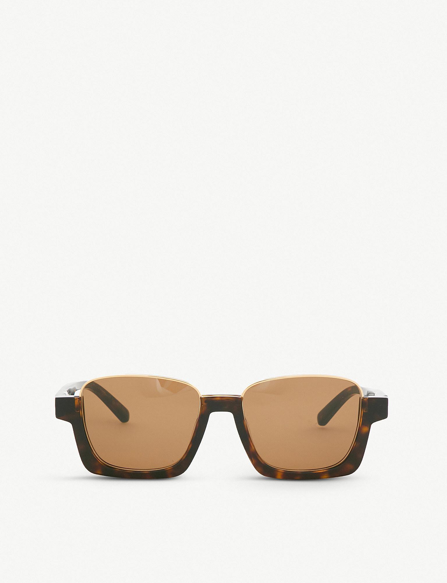 a2128b82eb6 Lyst - Marni Me613s Rectangular-frame Sunglasses in Brown