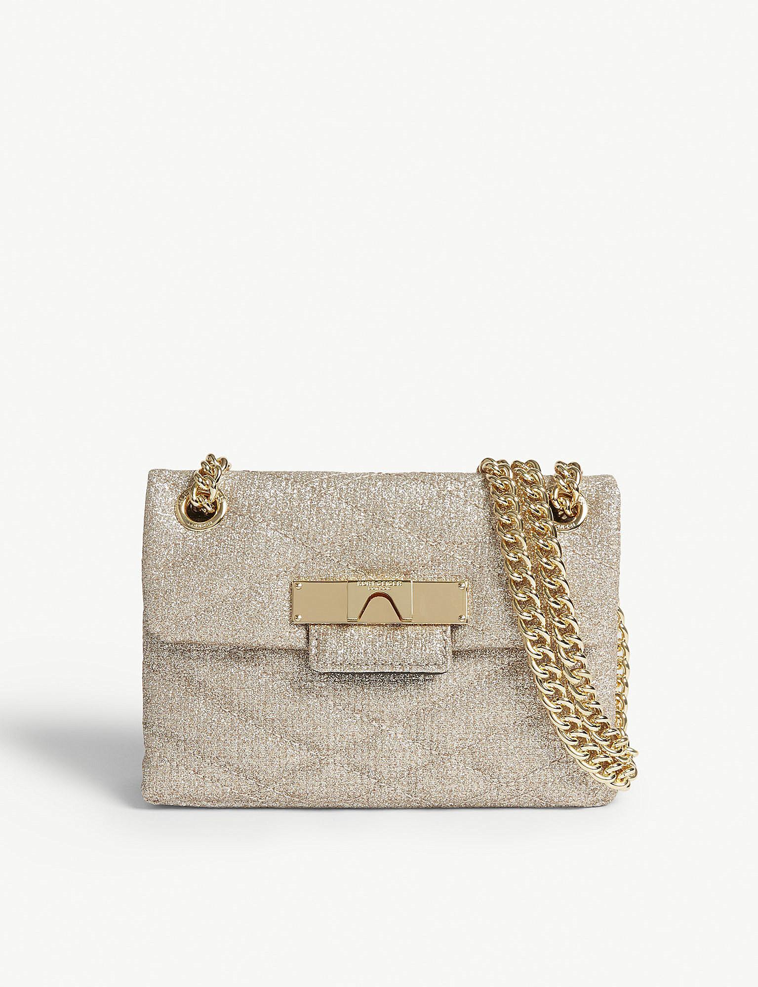 Womens Kensignton Quilt Clutch Gold (Gold) New Look r7psmkO