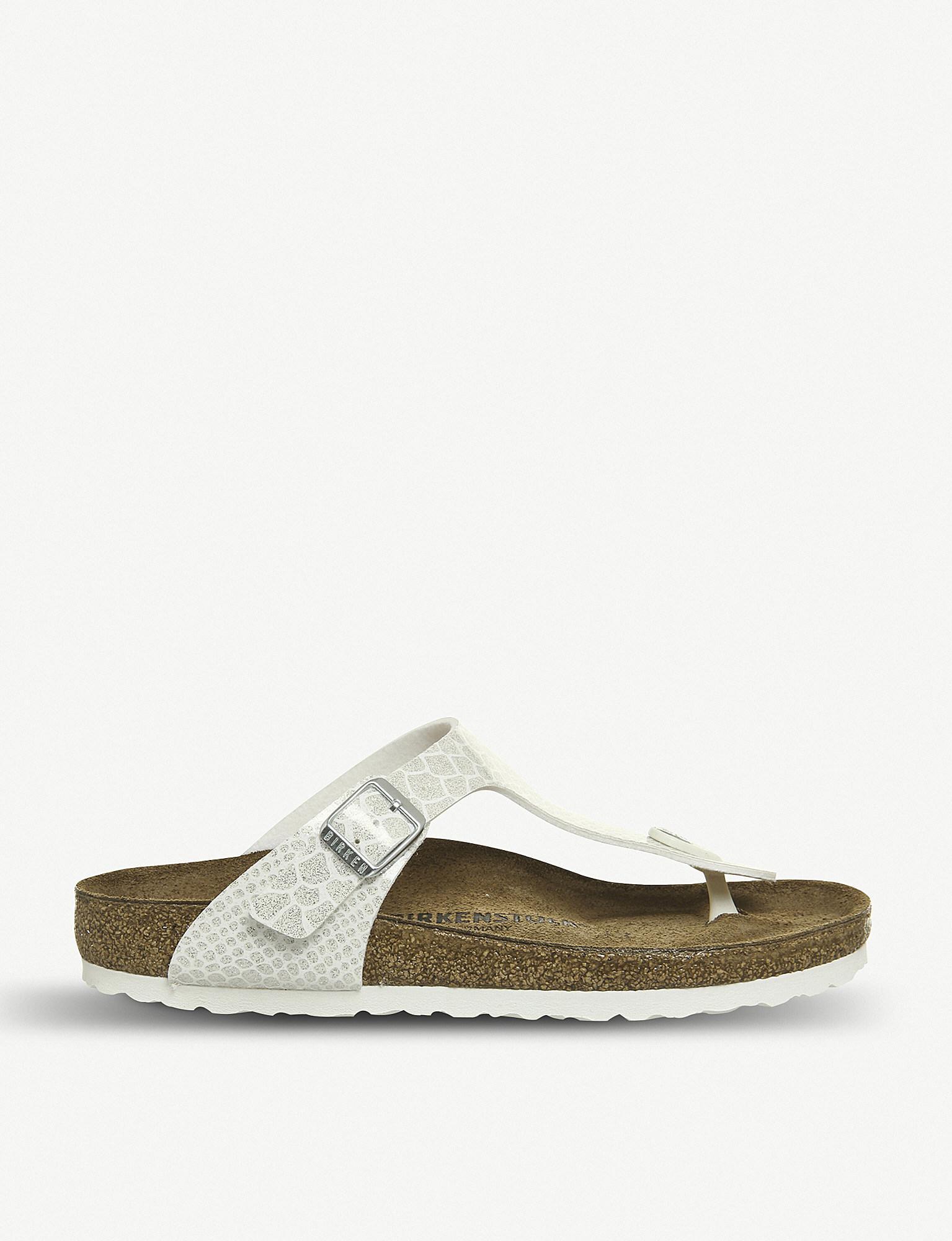174b00fcf07c Birkenstock. Women s Gizeh Birko-flor Thong Sandals