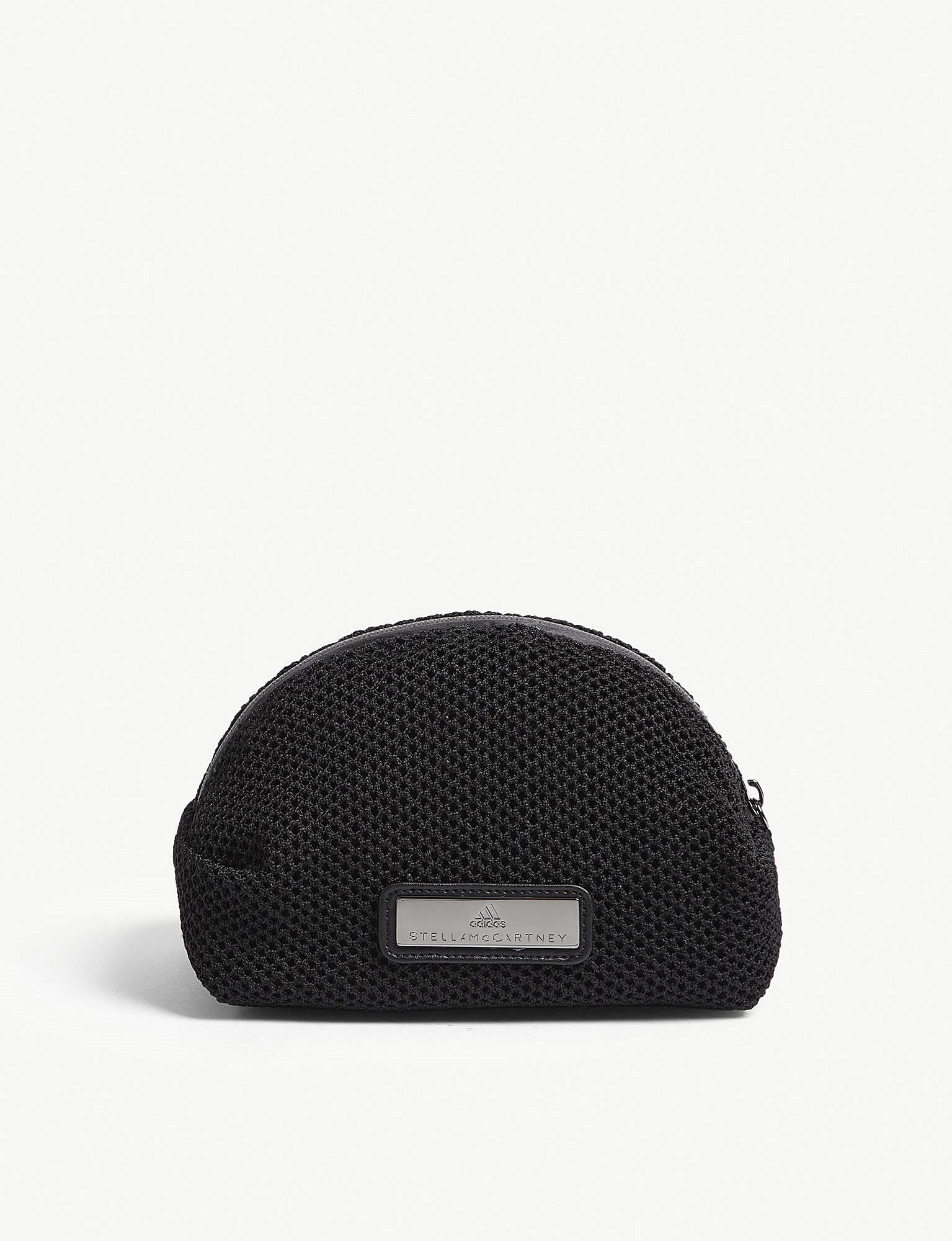 e78758a6b2ed adidas By Stella McCartney Mesh Wash Bag in Black for Men - Lyst