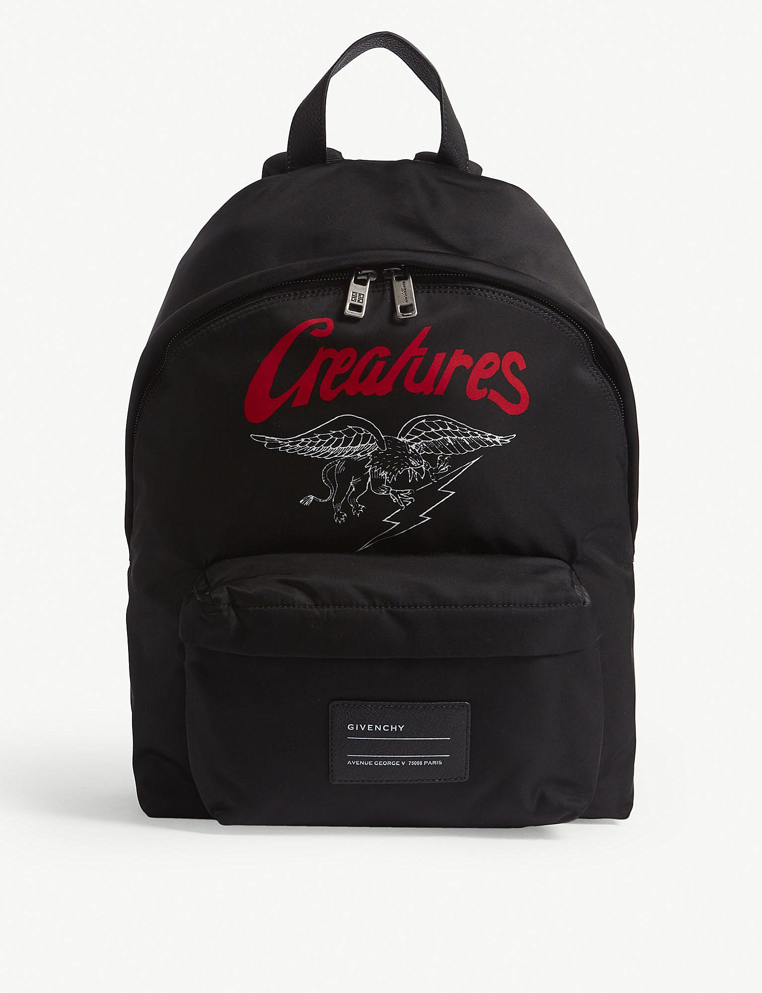 Givenchy Creatures motif backpack NypCKyCwb