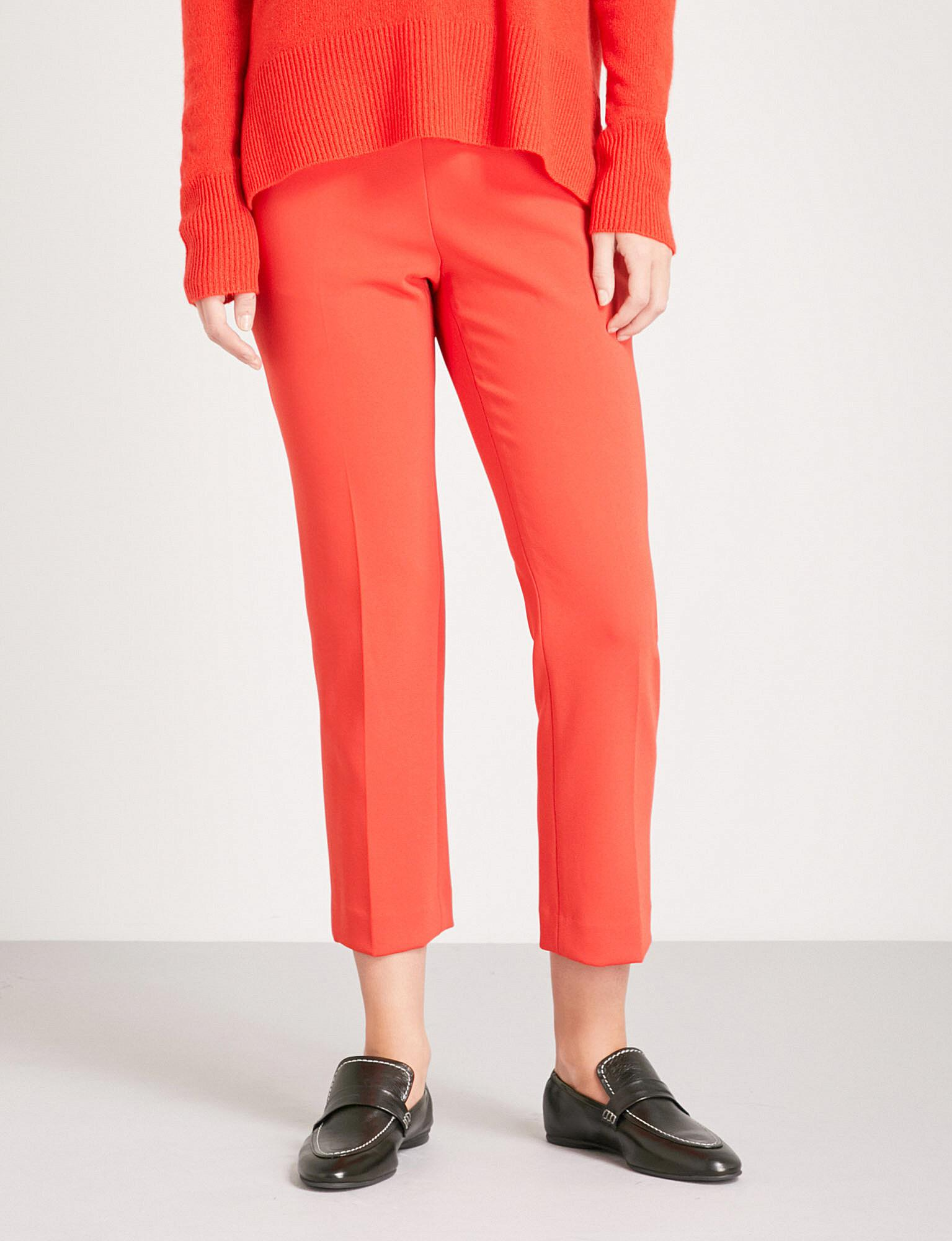 Cheap Sale Extremely cropped slim trousers - Red Theory Buy Cheap Low Price Fee Shipping Professional Cheap Price Pay With Visa For Sale 0Rqy7zaTx