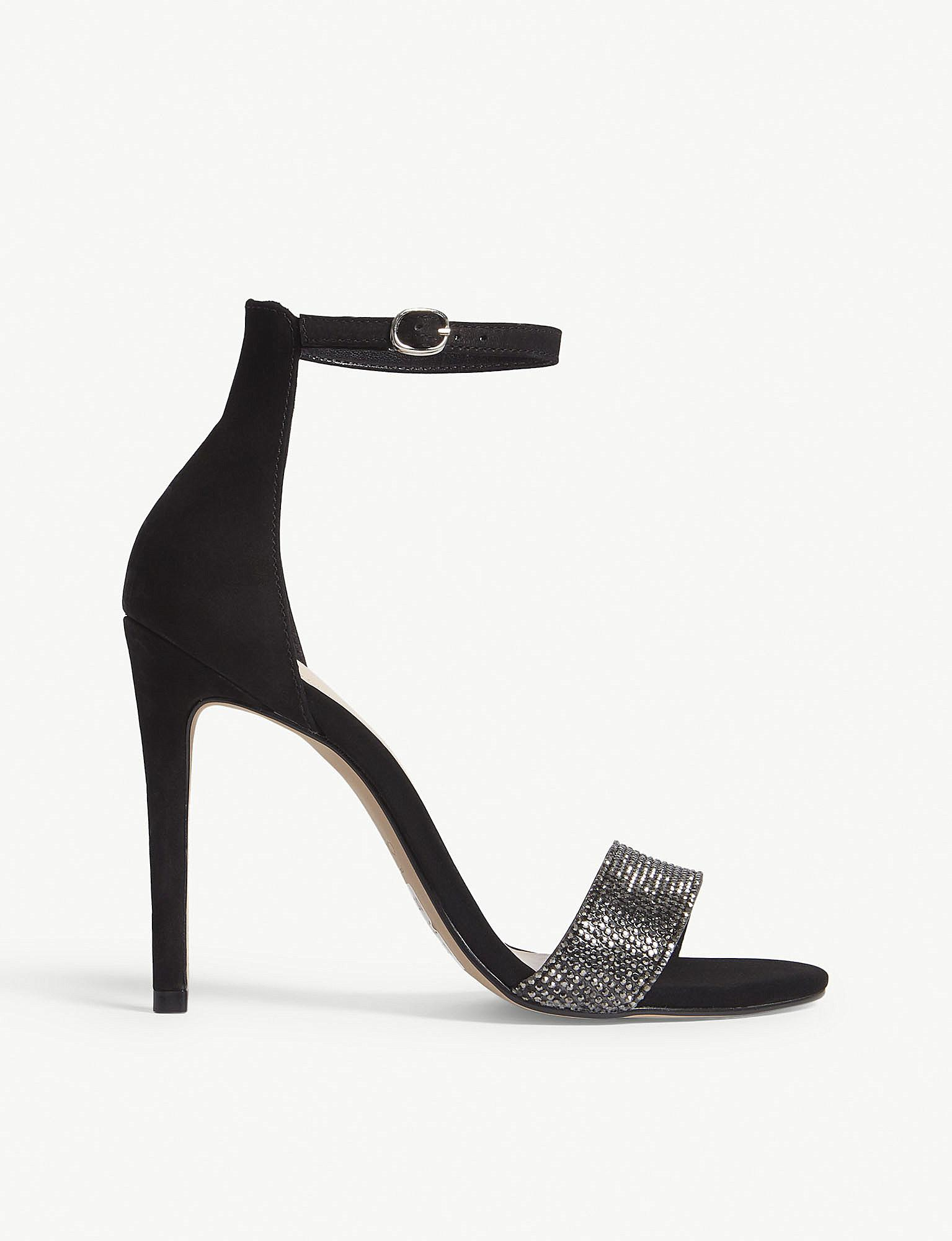 de01c6f8321 Lyst - ALDO Kedurith High Heel Sandals in Black