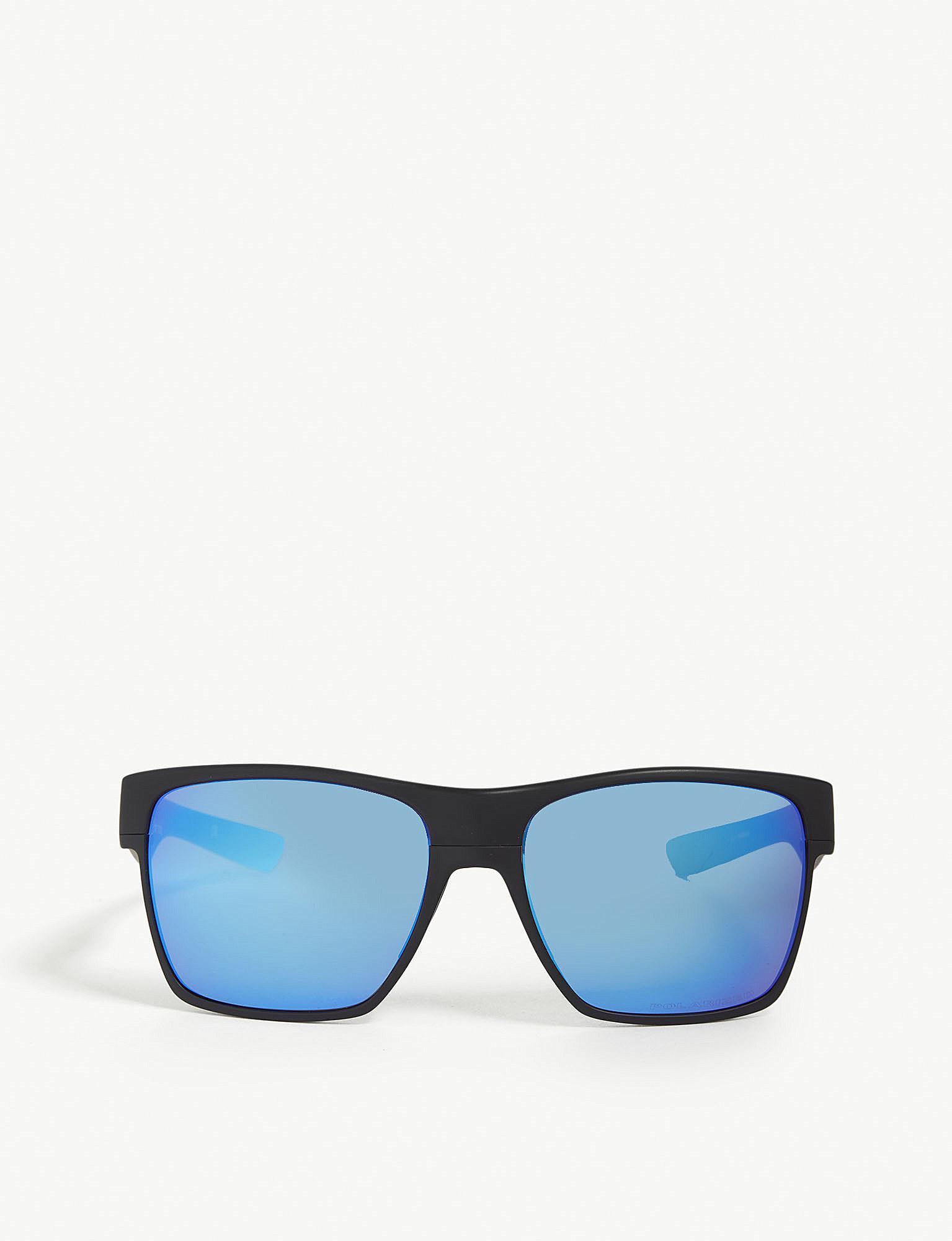 ac3fad1996b Lyst - Oakley Oo9350 Twoface Xl Square-frame Sunglasses in Black for Men