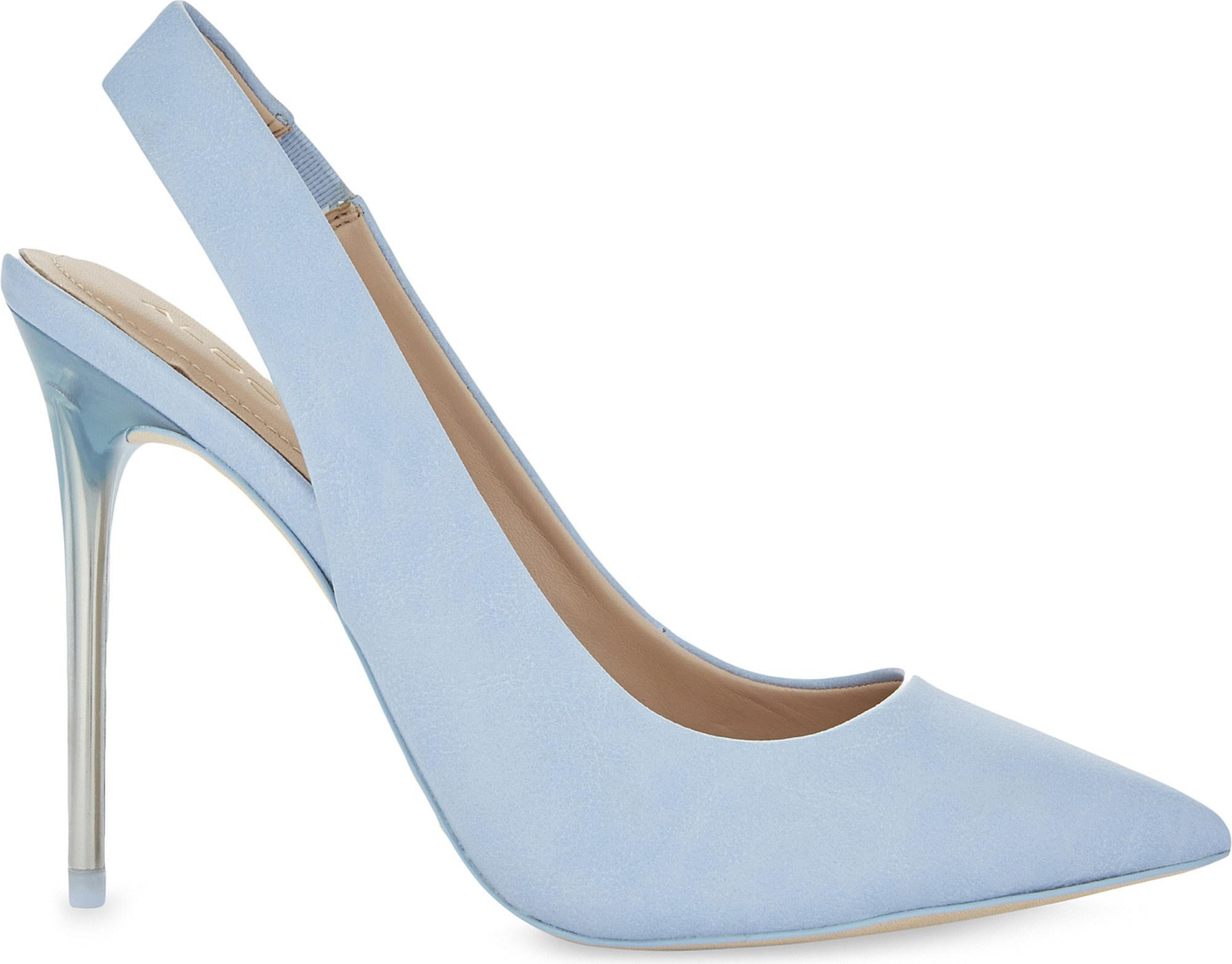 04c9605be34 Aldo Niky Slingback Courts in Blue - Lyst