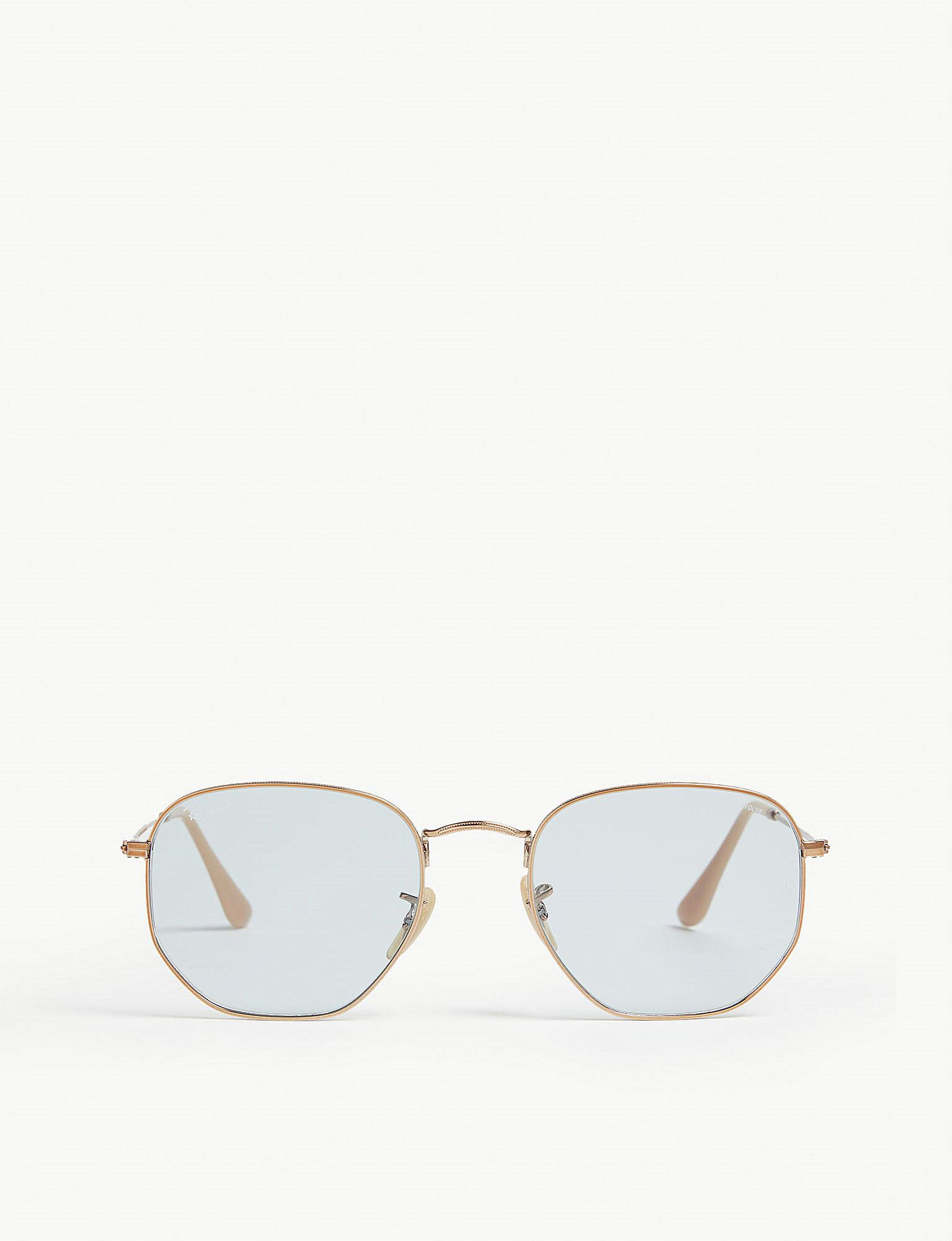 af294f9901 Ray-Ban 0ch5387 Butterfly Sunglasses in Metallic - Lyst