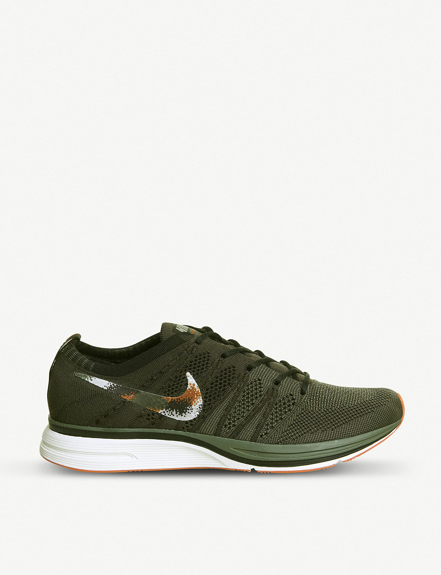 check out cf2e8 91ccd Nike. Men s Green Flyknit Trainers
