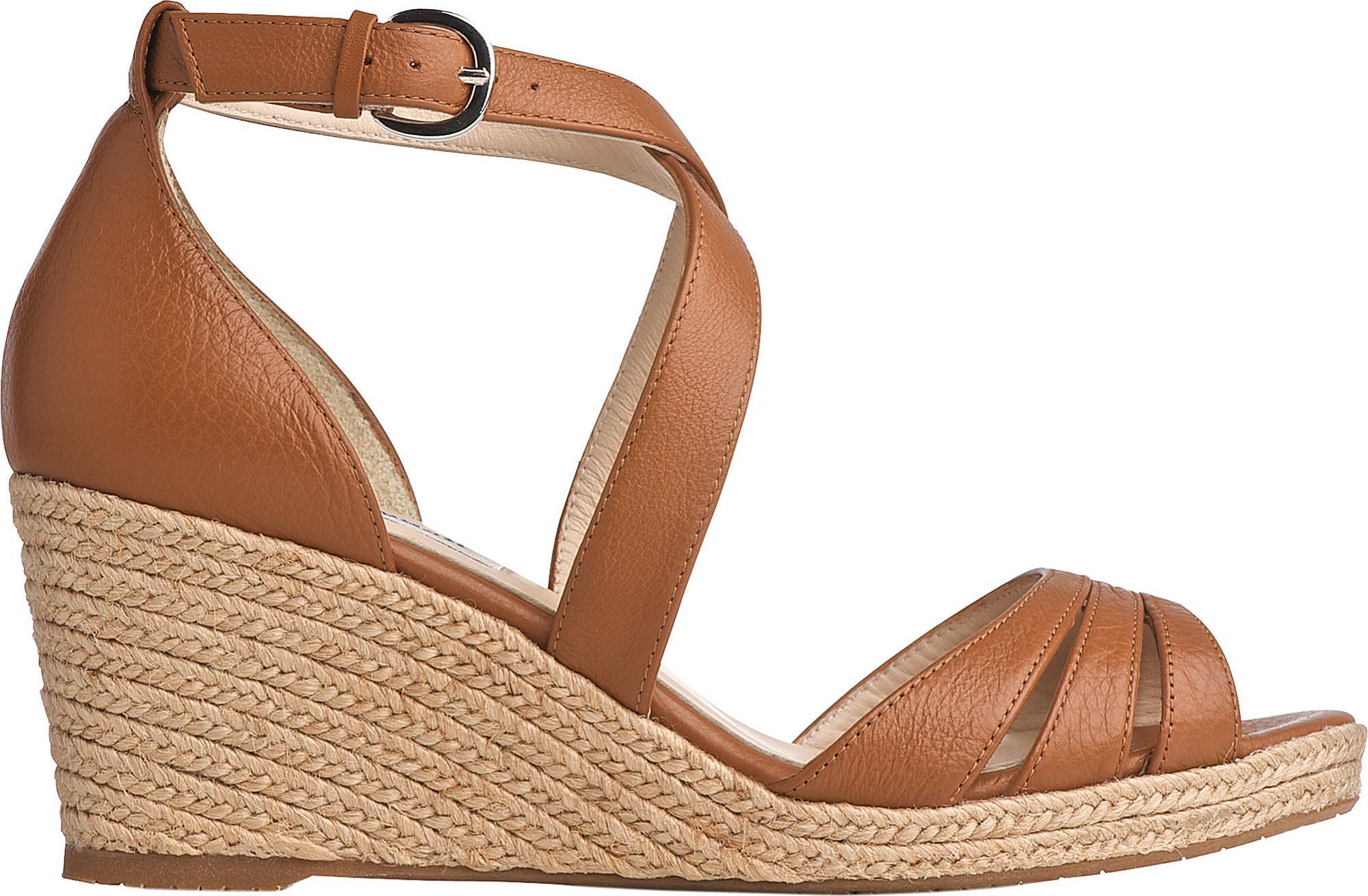 9060fde4736 Lyst - L.K.Bennett Priya Espadrille Wedge Sandals in Brown