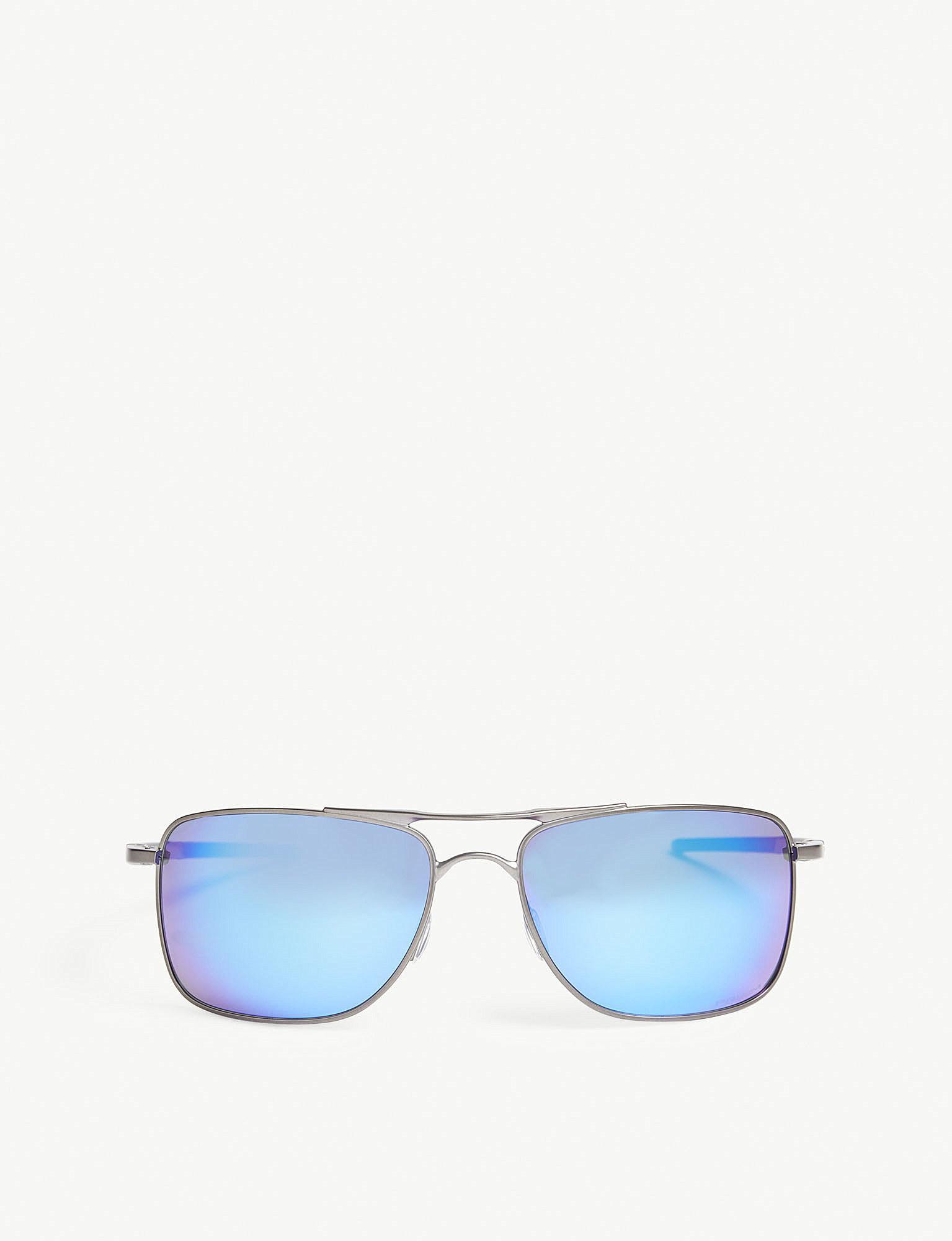 Lyst - Oakley Gauge 8 L Square-frame Sunglasses in Blue for Men