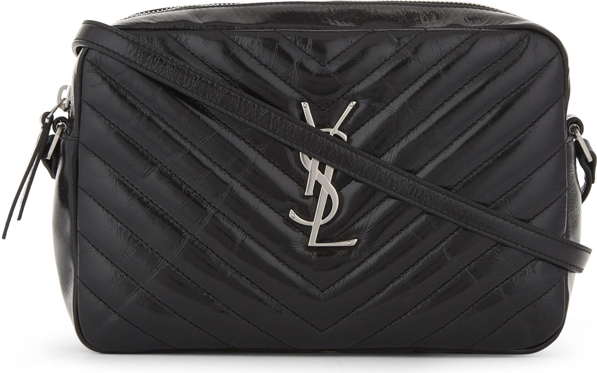 7b1a1e927db Saint Laurent Monogram Lou Medium Quilted Leather Cross-body Bag in ...