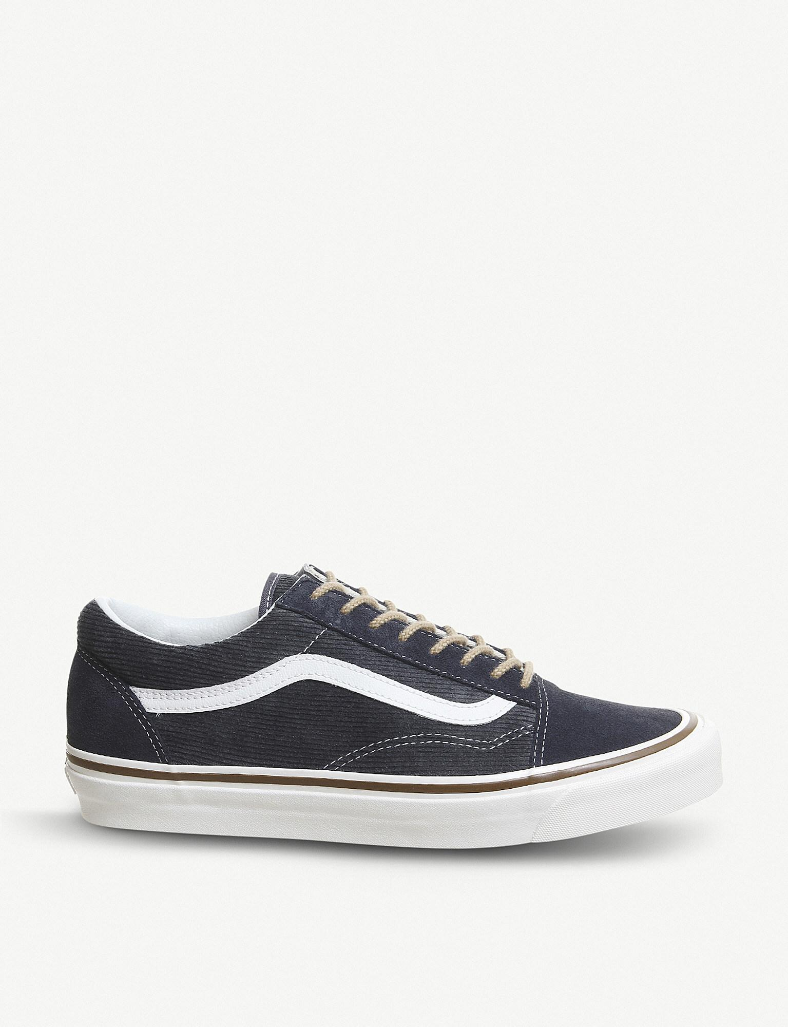 5a136b0899 Vans. Men s Blue Anaheim Factory Old Skool Dx Suede Suede And Canvas  Trainers