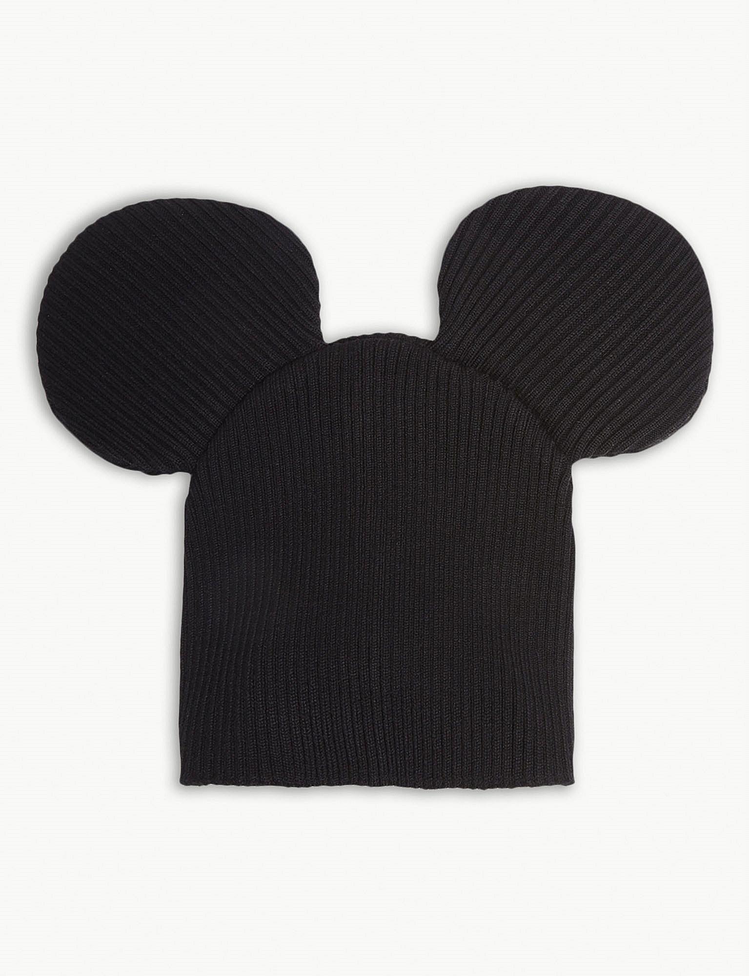 3374503f8ef Comme Des Garçons Mouse Ears Beanie in Black for Men - Lyst