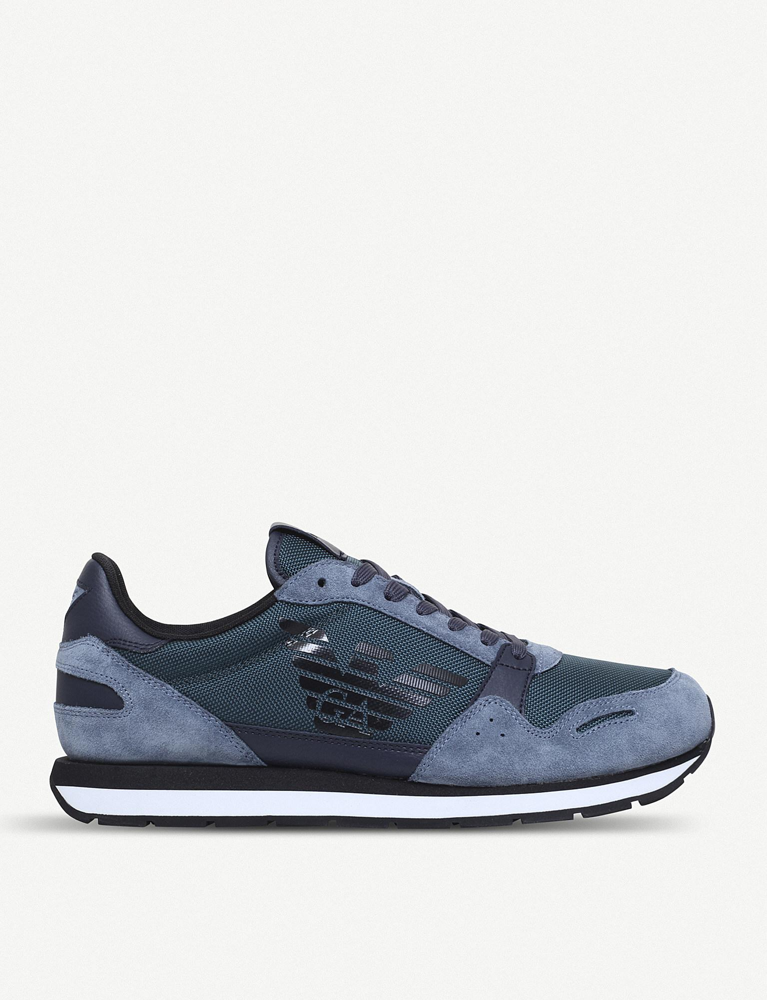 Giorgio Armani low-top runner sneakers largest supplier for sale popular really cheap online limited edition for sale big sale for sale K1WbspuGqK