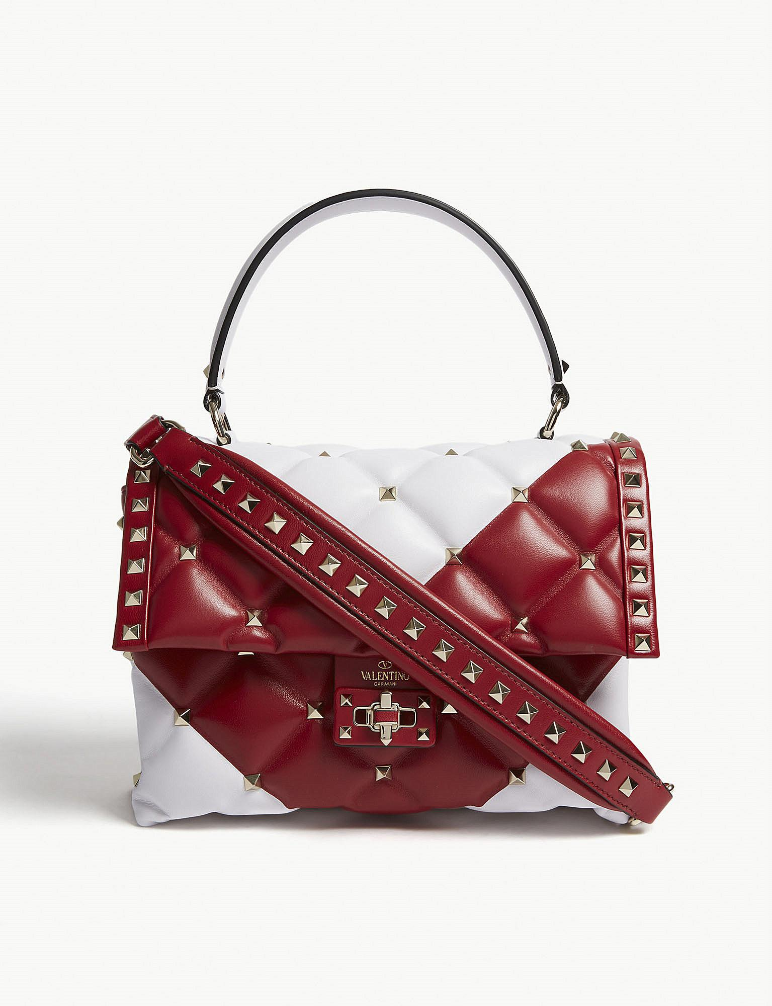 Valentino Candystud Quilted Shoulder Bag 03noKe3