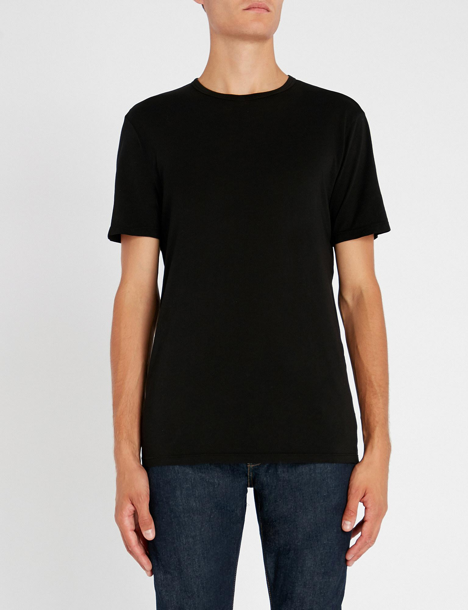 855982ab081 Cotton Citizen The Classic Cotton-jersey T-shirt in Black for Men - Lyst