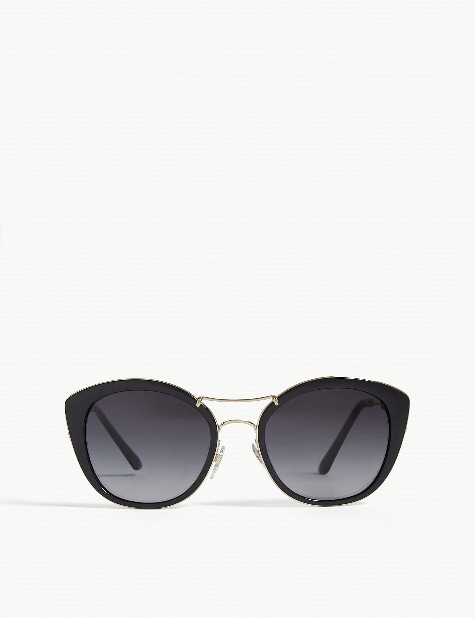 5e1c66a70446 Lyst - Burberry B4251 Cat-eye Sunglasses