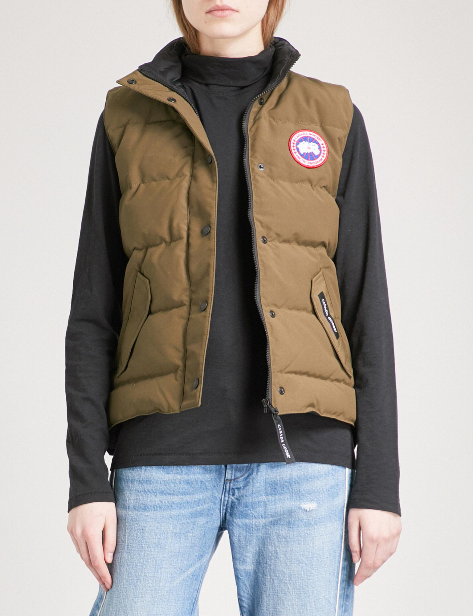 canada goose freestyle shell-down gilet