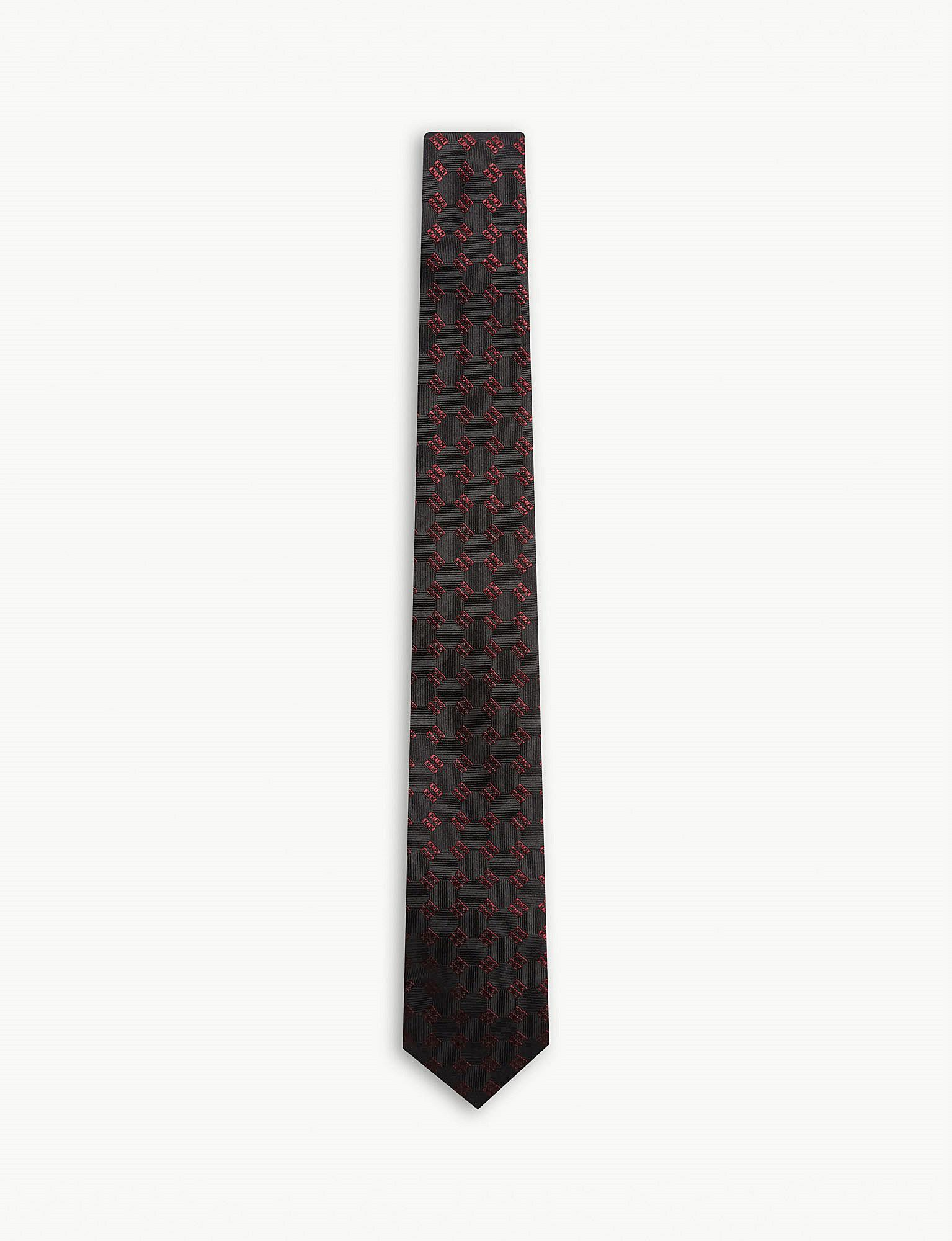 Black and White 4G Tie Givenchy 6ZcoXu
