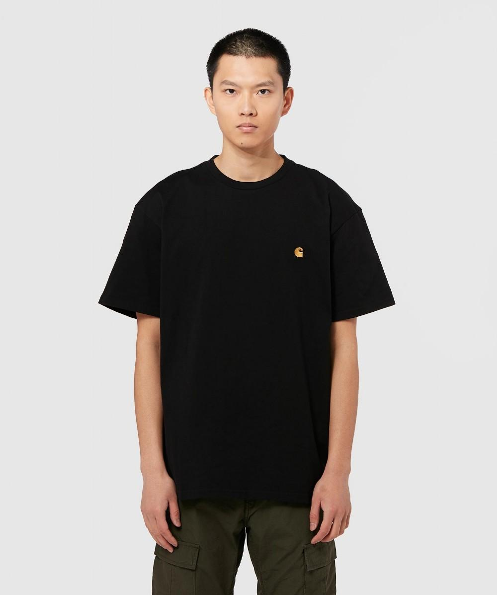 bbd344a9 Carhartt WIP Chase T-shirt in Black for Men - Lyst