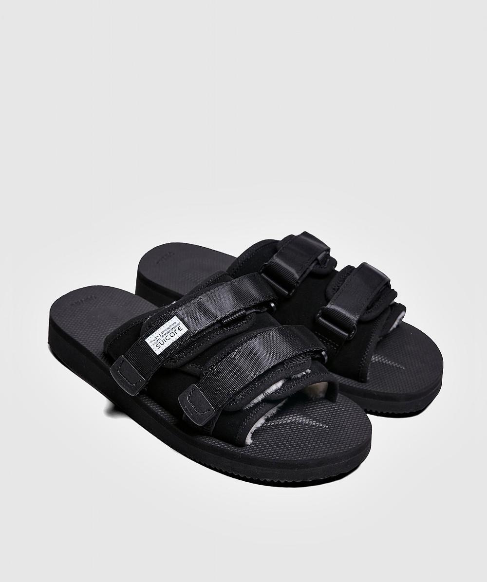 2cc95c50a19 Suicoke Moto Mab Vibram Sandal Black in Black for Men - Save 9% - Lyst