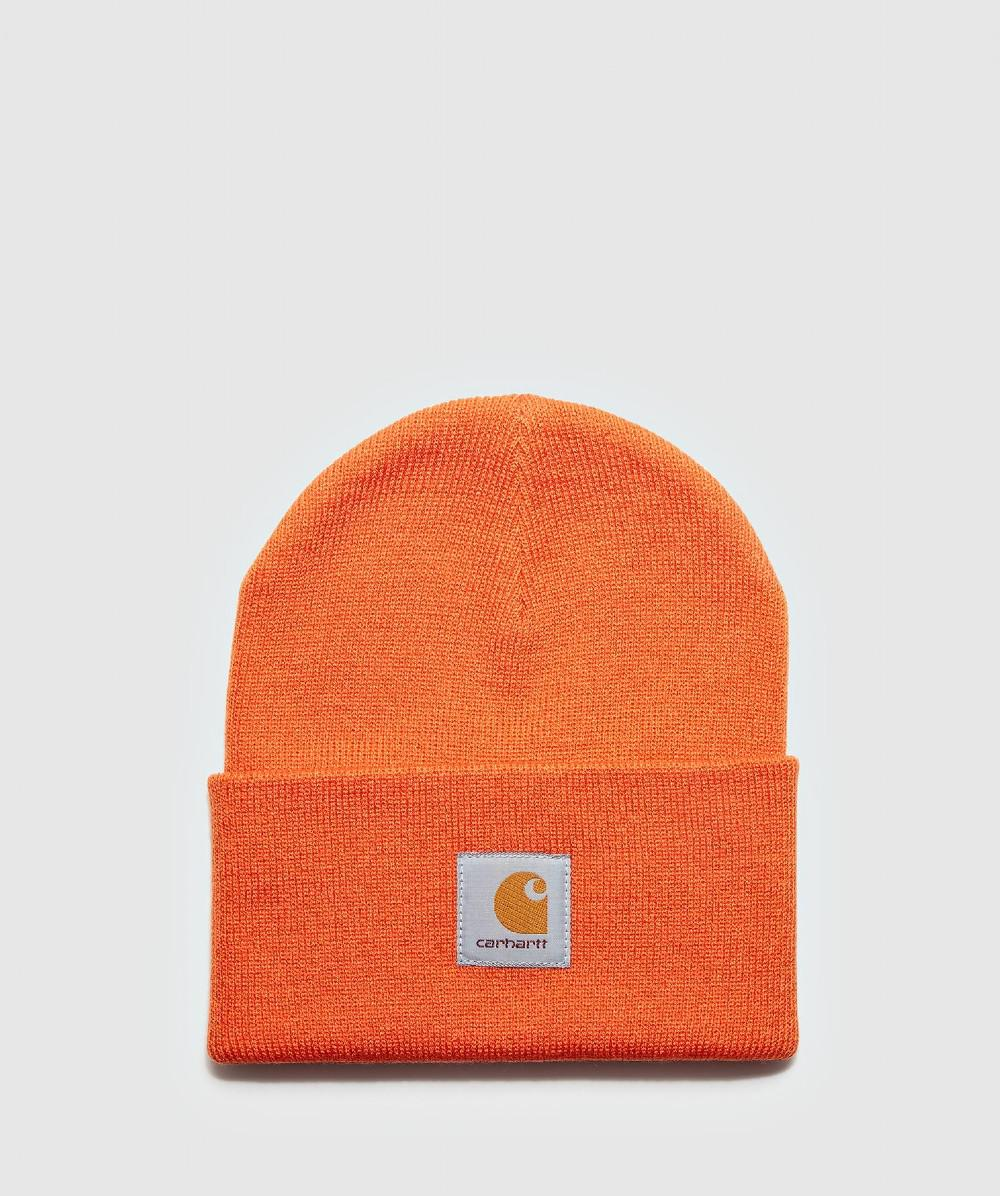 f7ff908a490 ... Orange Watch Hat for Men - Lyst. View fullscreen
