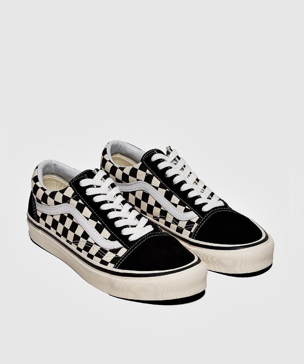 232c4239fdb9 Vans Anaheim Oldskool Check Sneaker in Black for Men - Lyst